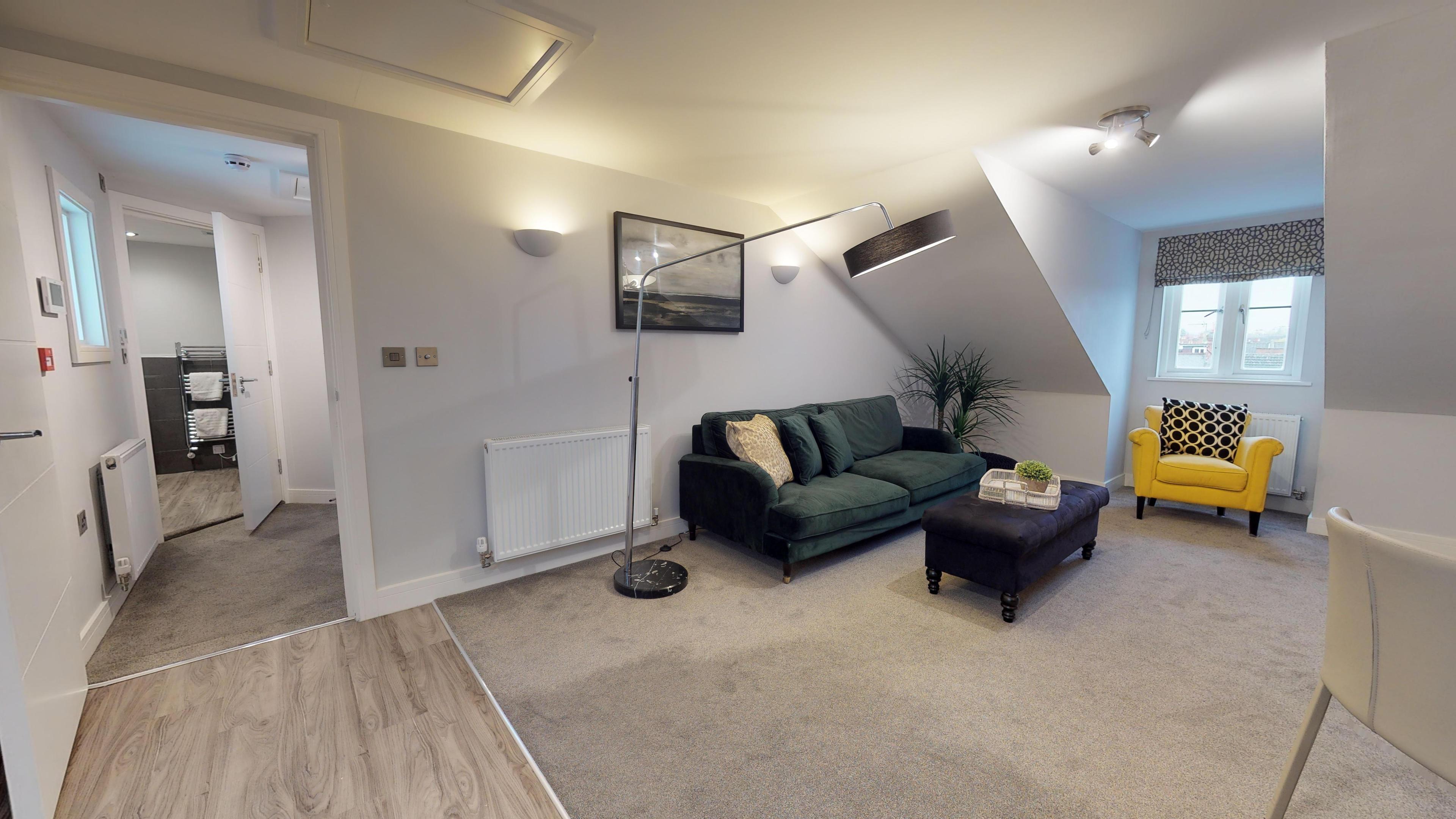 Leamington Spa Serviced Apartments Dunara Shakespeare Living Corner