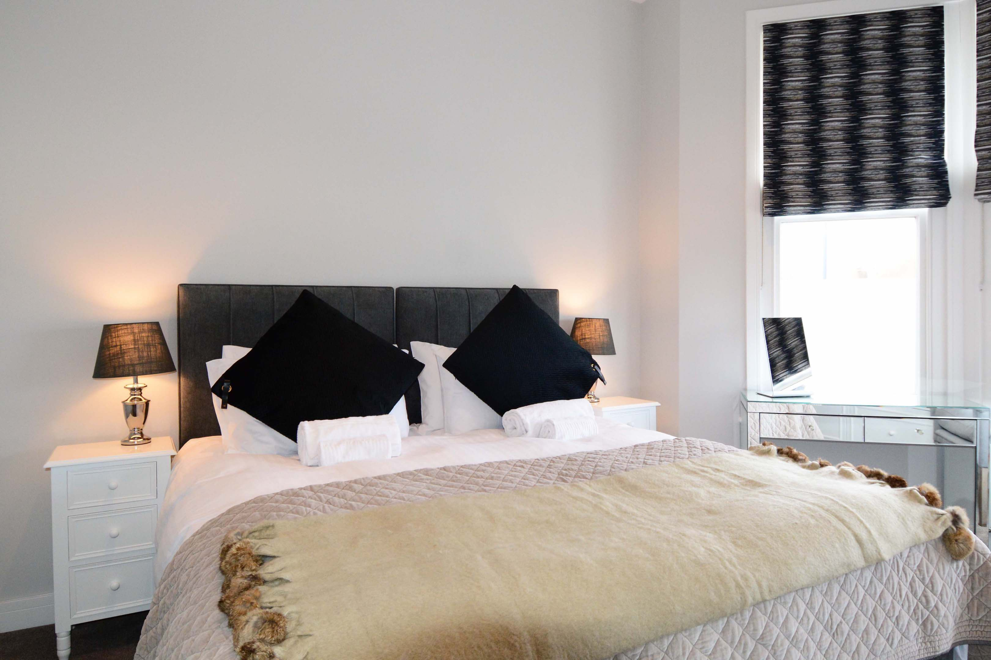 Leamington Spa Serviced Apartment Stratford Suite Bedroom Two Bed