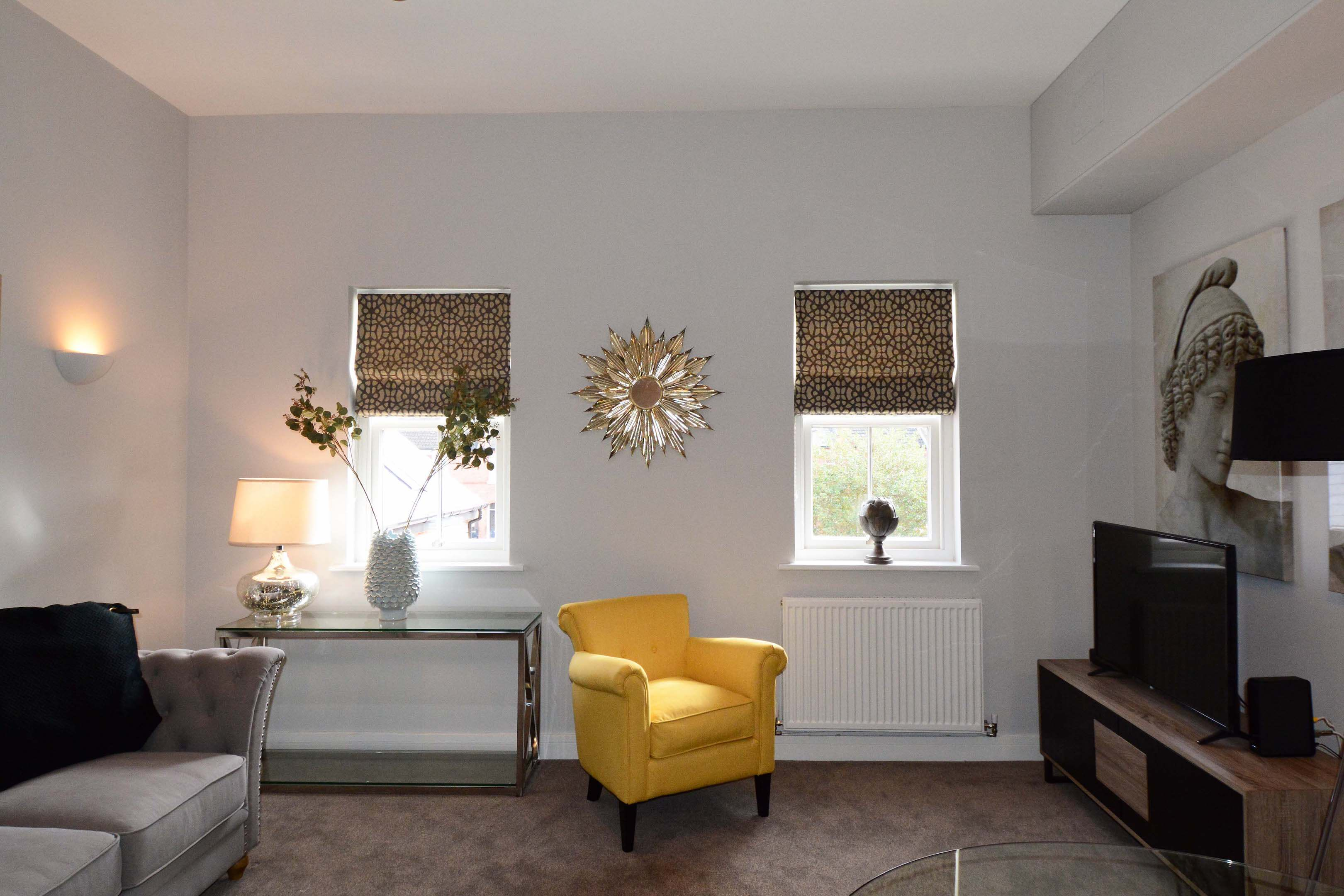 Leamington Spa Serviced Apartment Stratford Suite Living