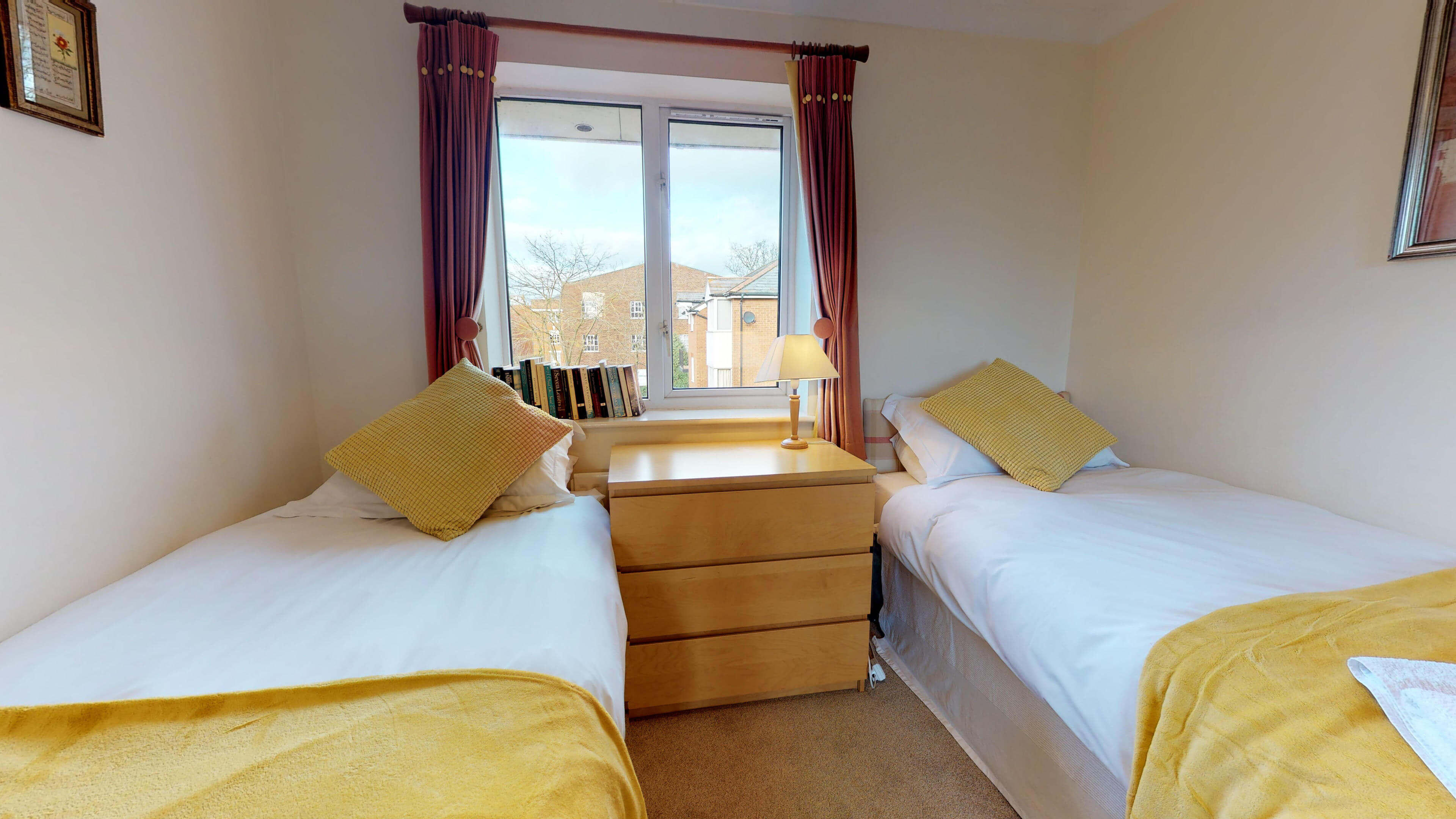 Millbank Oxford City Centre Short Stay Apartment Sleeps 4 Bedroom Twin