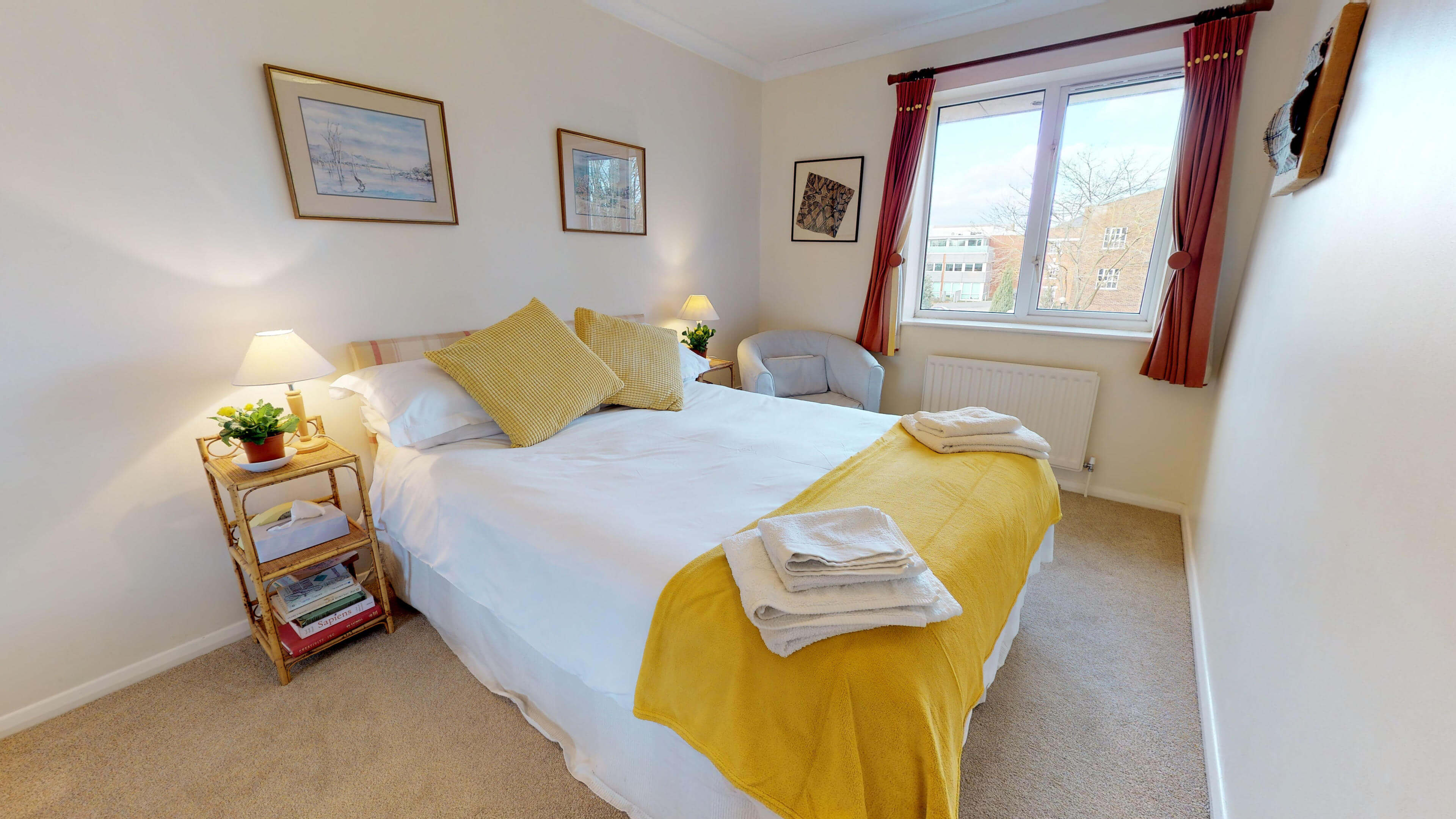 Millbank Oxford City Centre Short Stay Apartment Sleeps 4 Double Bedroom