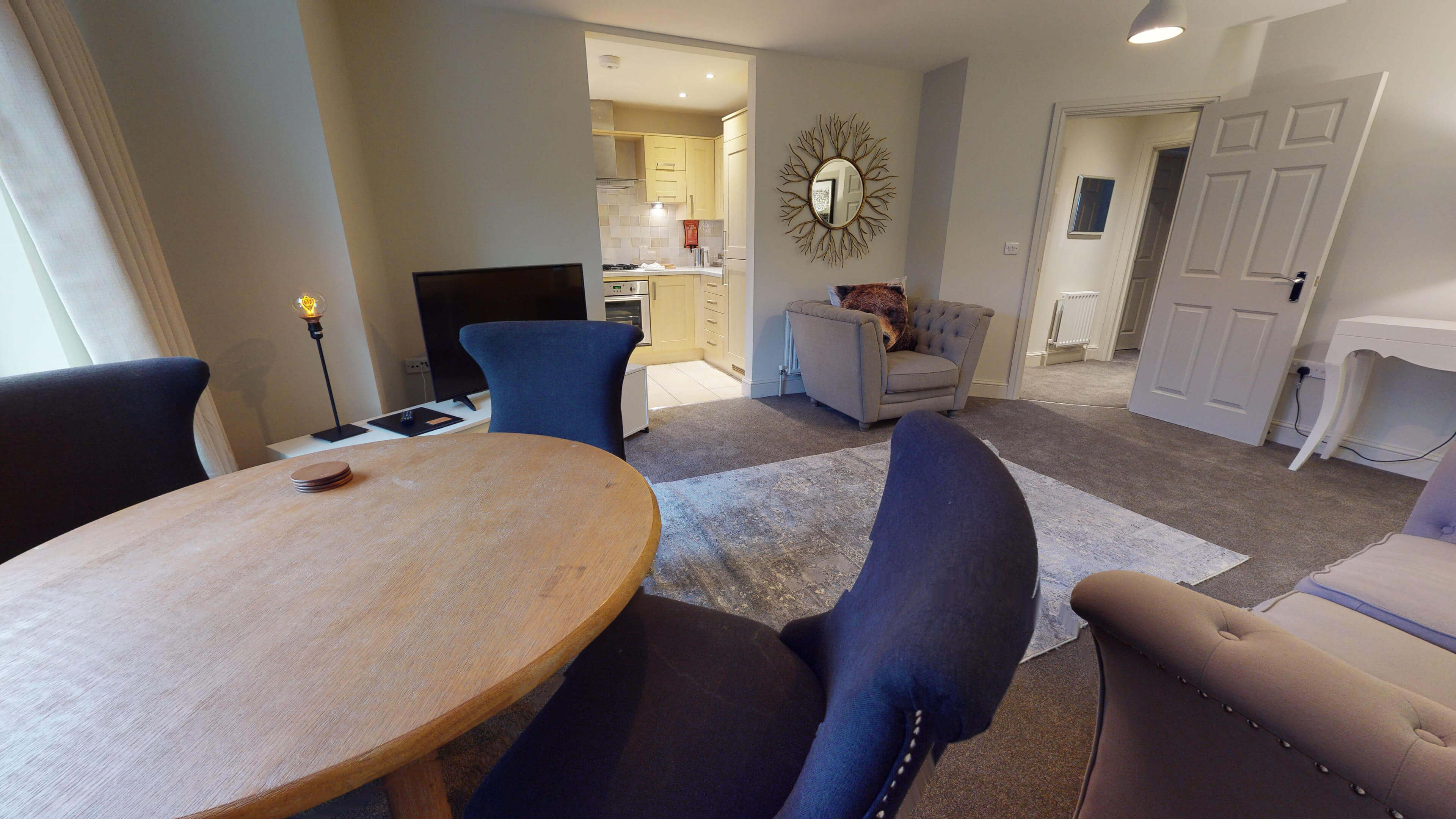 Oxford Serviced Apartment Blenheim Suite Living Dining