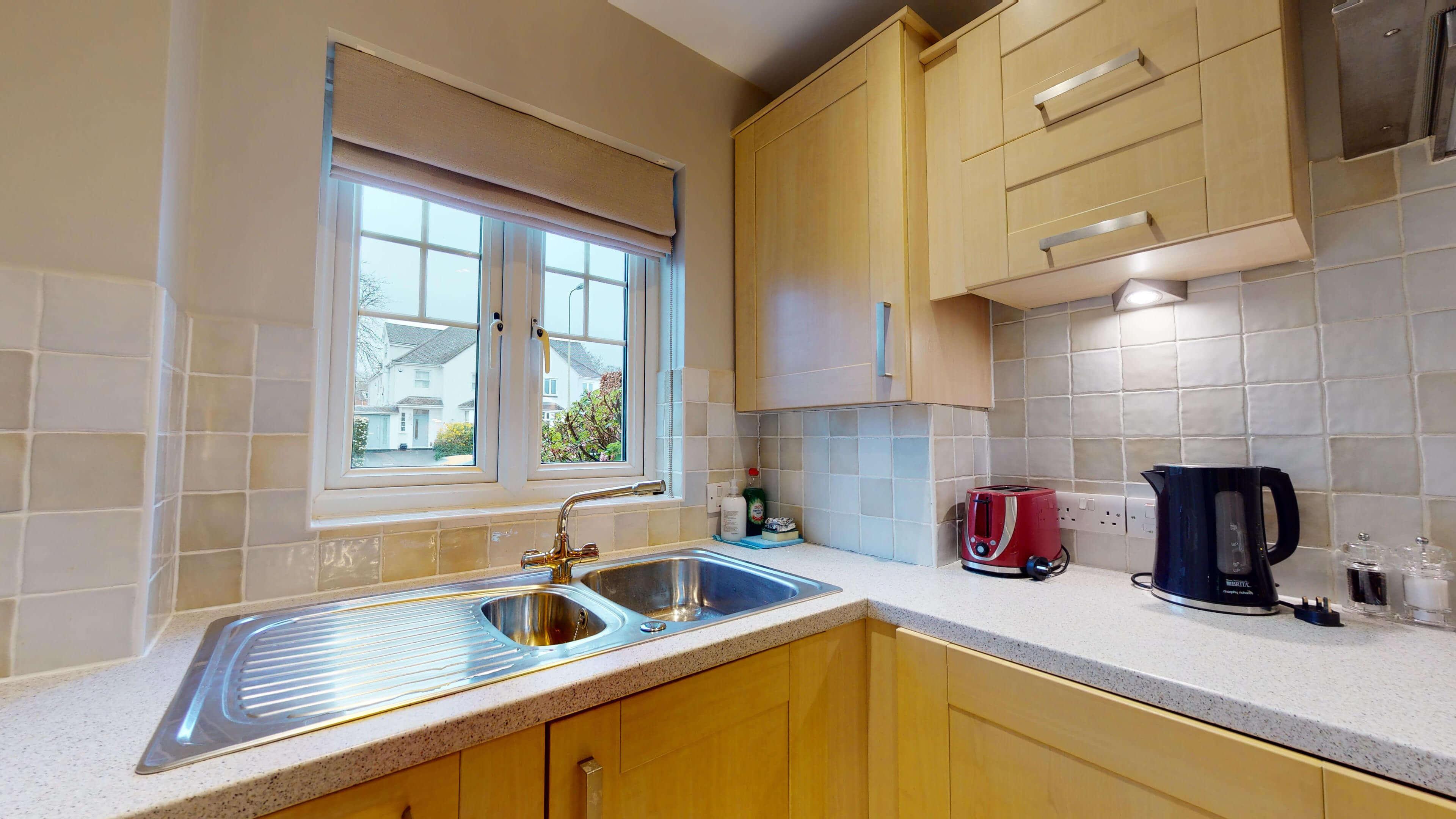 Oxford Serviced Apartment Blenheim Suite Kitchen