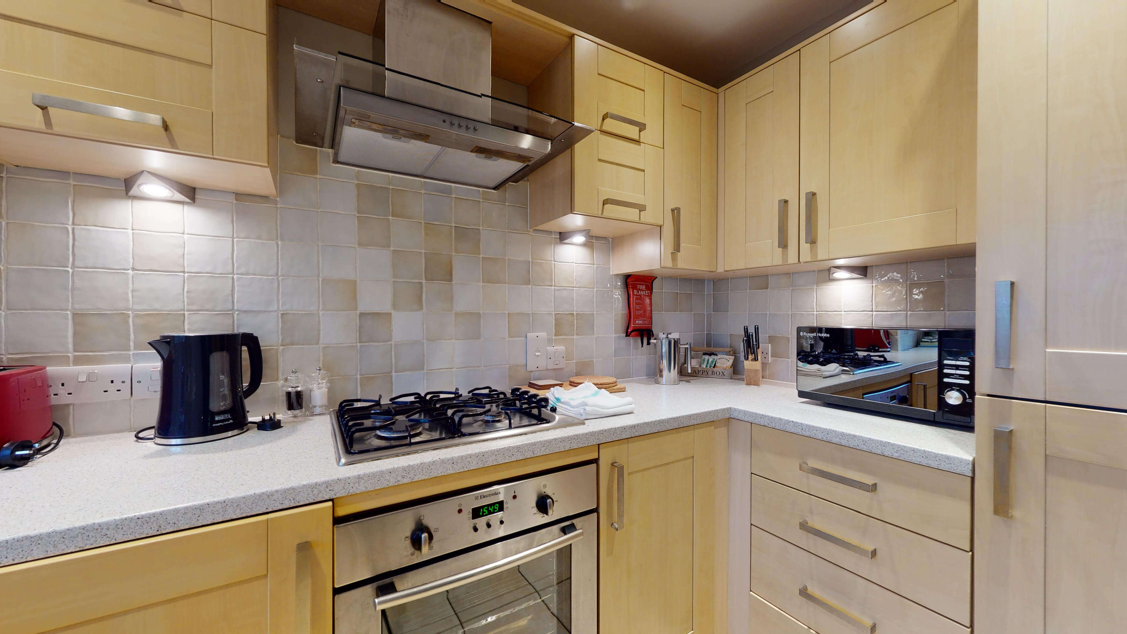 Oxford Serviced Apartment Blenheim Suite Kitchen Two