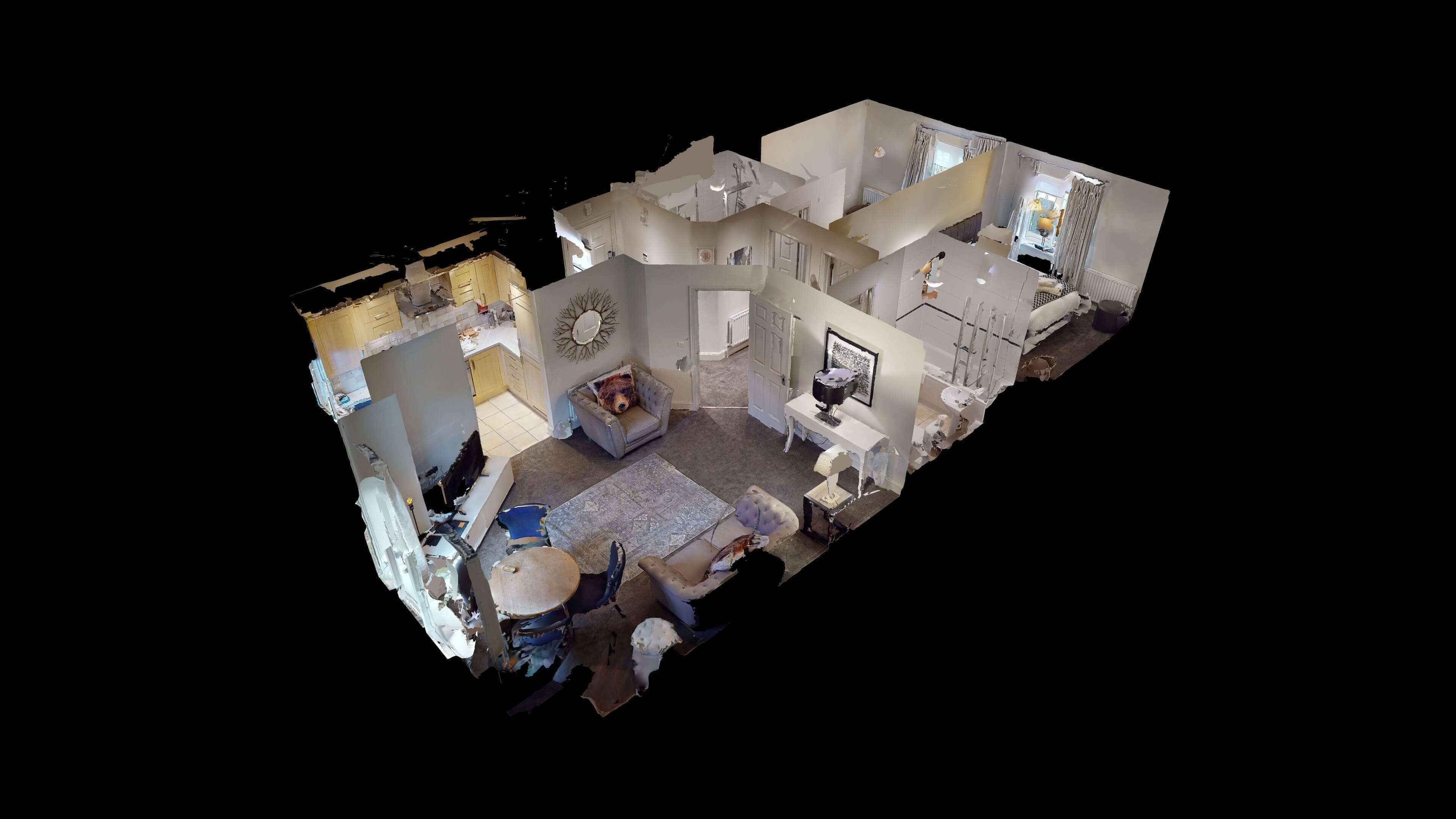 Oxford Serviced Apartment Blenheim Suite Dollhouse