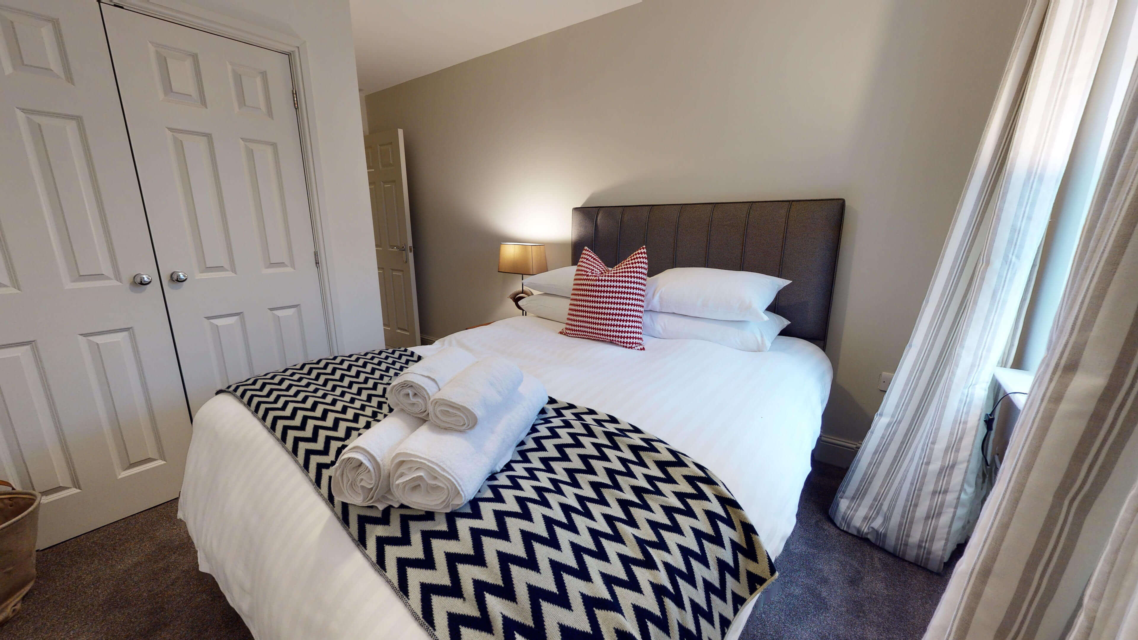 Oxford Serviced Apartment Blenheim Suite Bedroom Twojpg