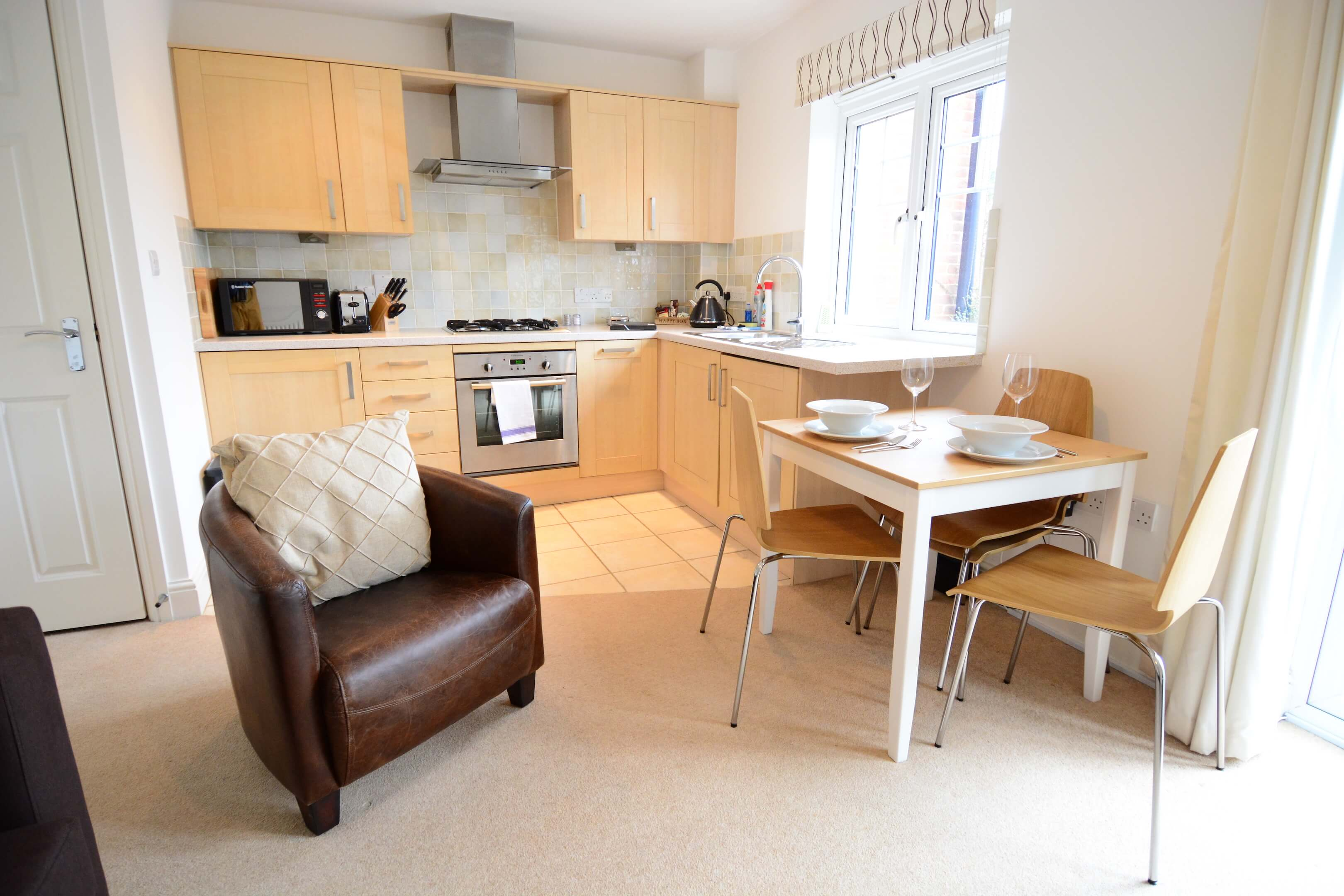 Oxford One Bedroom Vanbrugh Woodstock Serviced Apartment 007