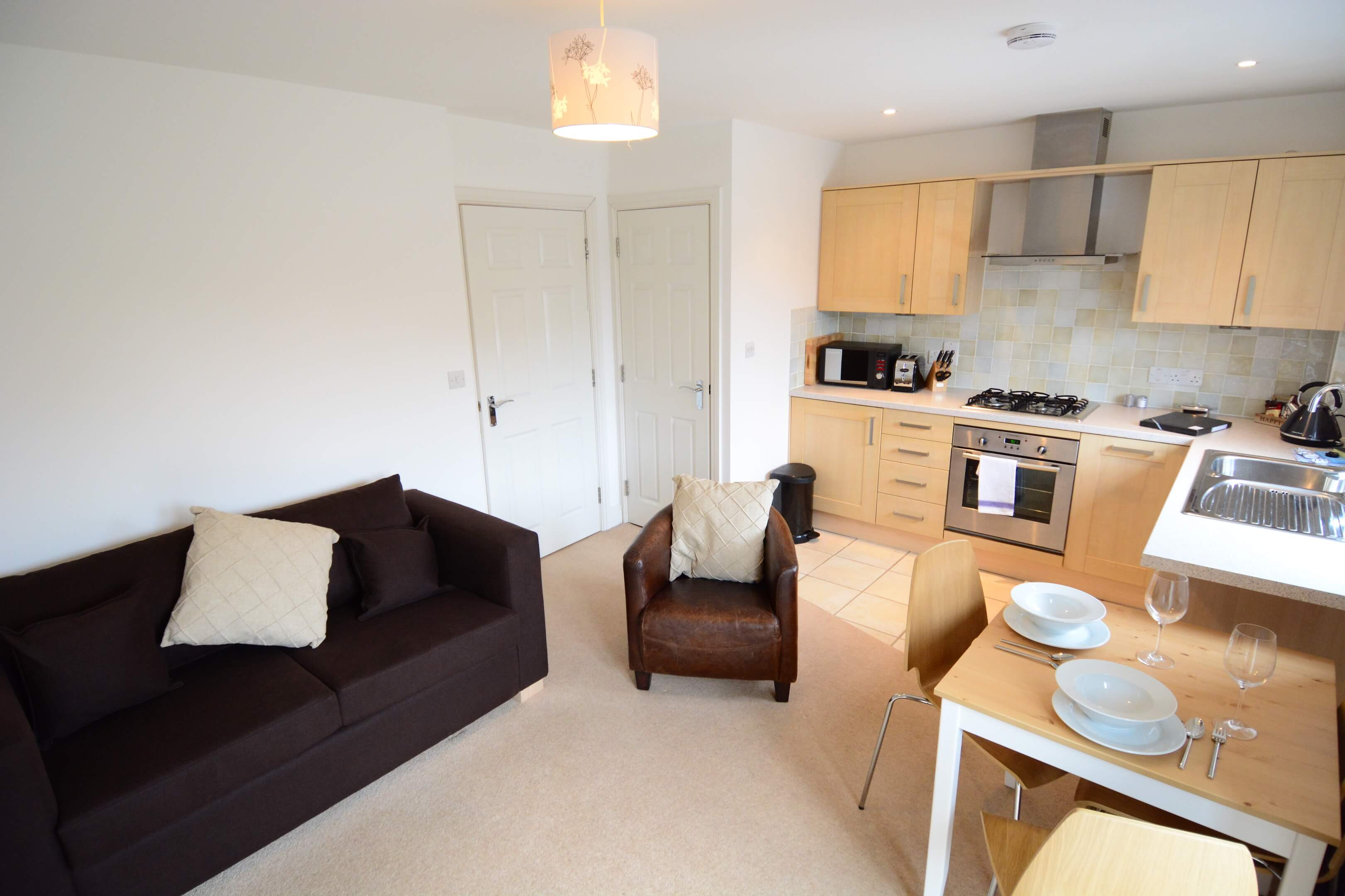 Oxford One Bedroom Vanbrugh Woodstock Serviced Apartment 006