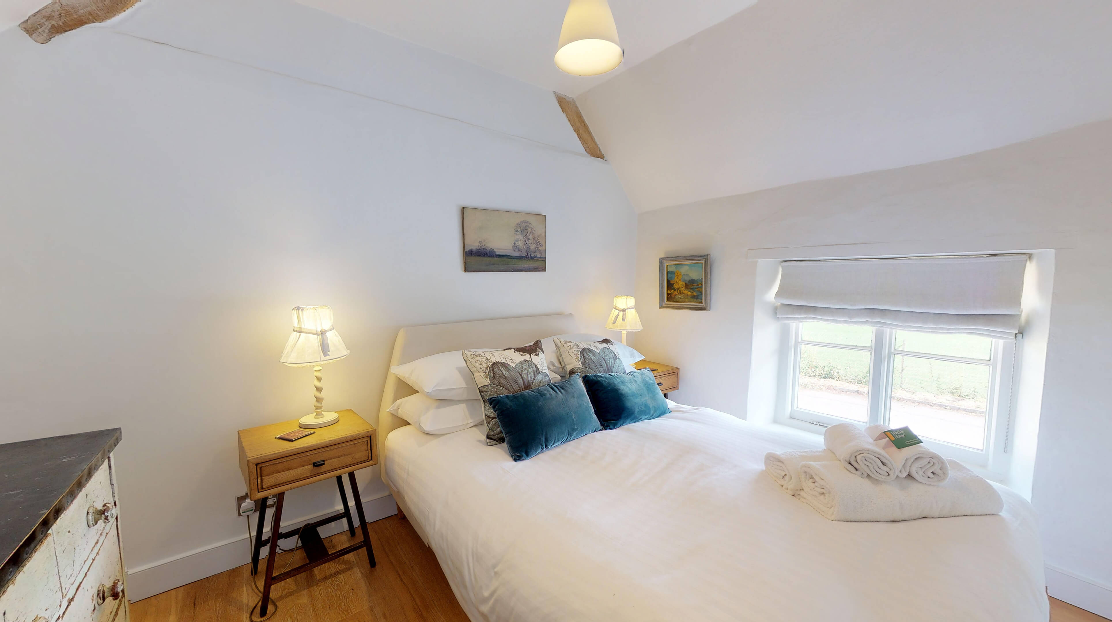 Lower Heyford Three Bedroom Coopers Cottage Bedroom One 1
