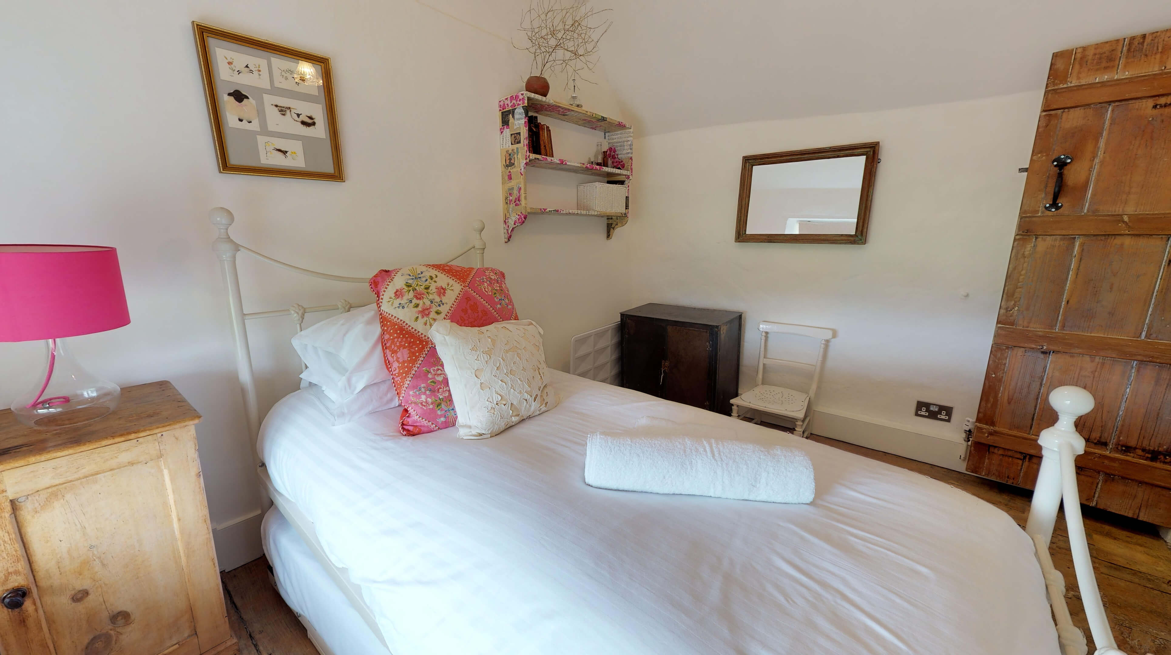 Lower Heyford Three Bedroom Coopers Cottage Bedroom Two 2