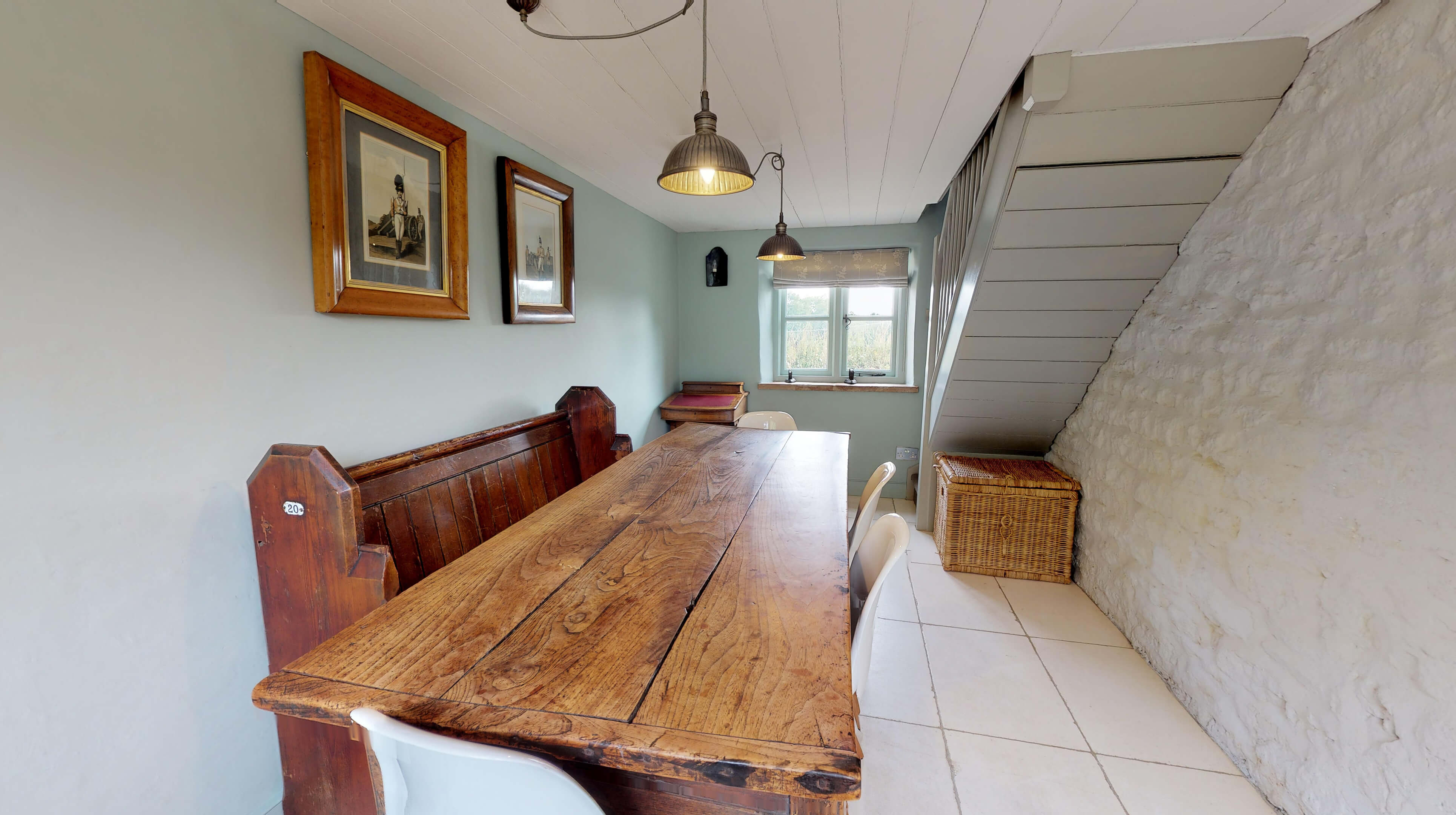 Lower Heyford Three Bedroom Coopers Cottage Dining Room 1