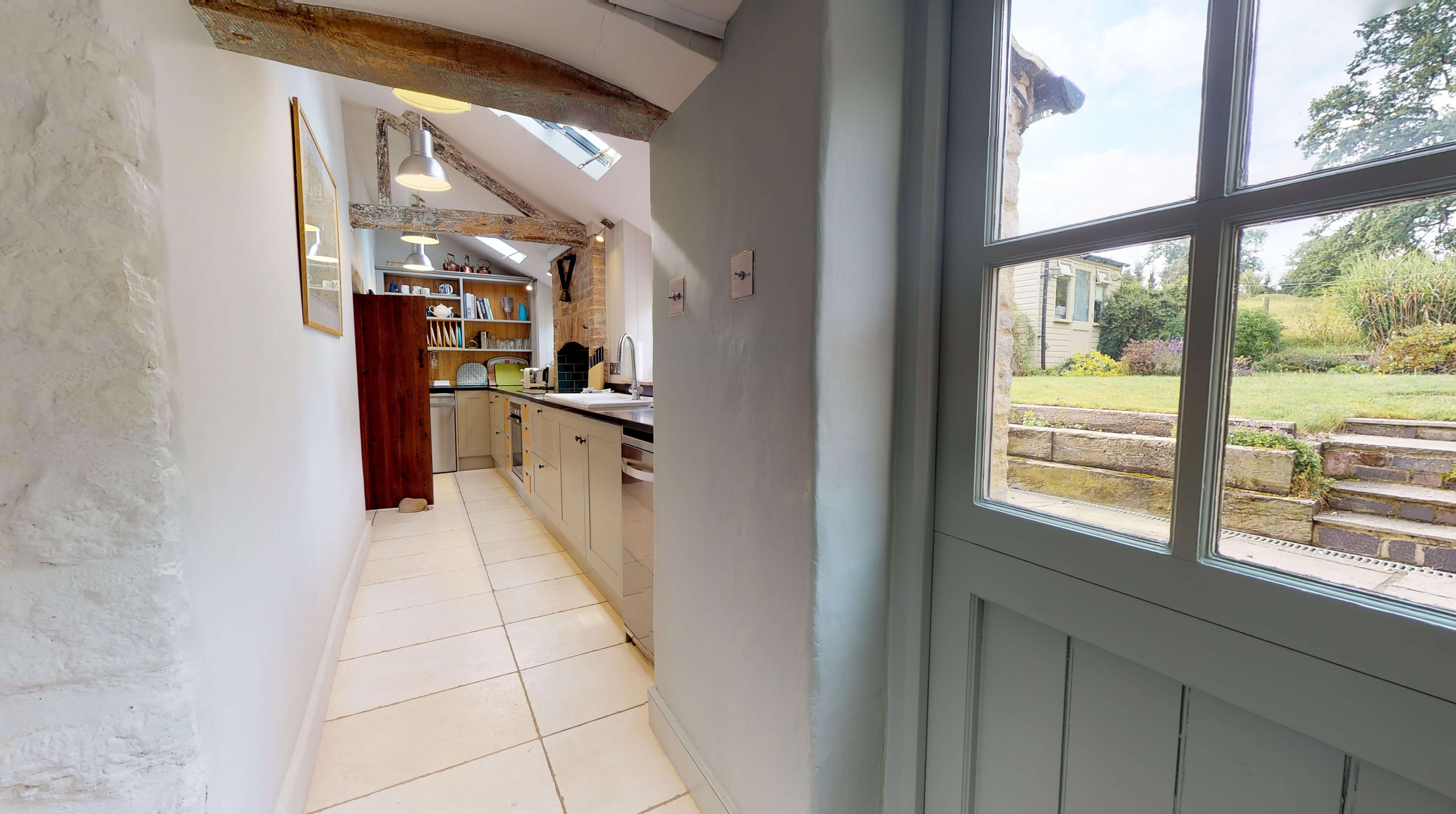 Lower Heyford Three Bedroom Coopers Cottage Kitchen 1