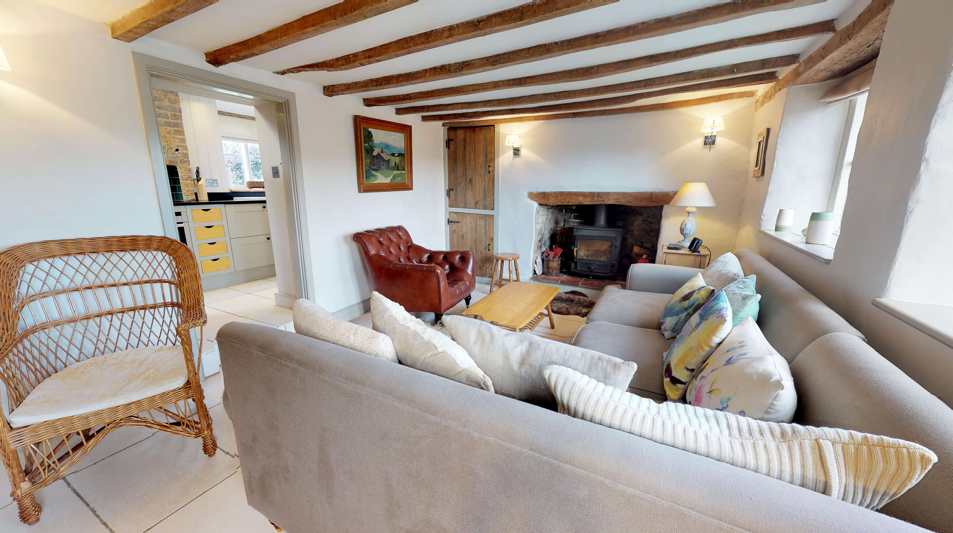 Lower Heyford Three Bedroom Coopers Cottage Living Room 2