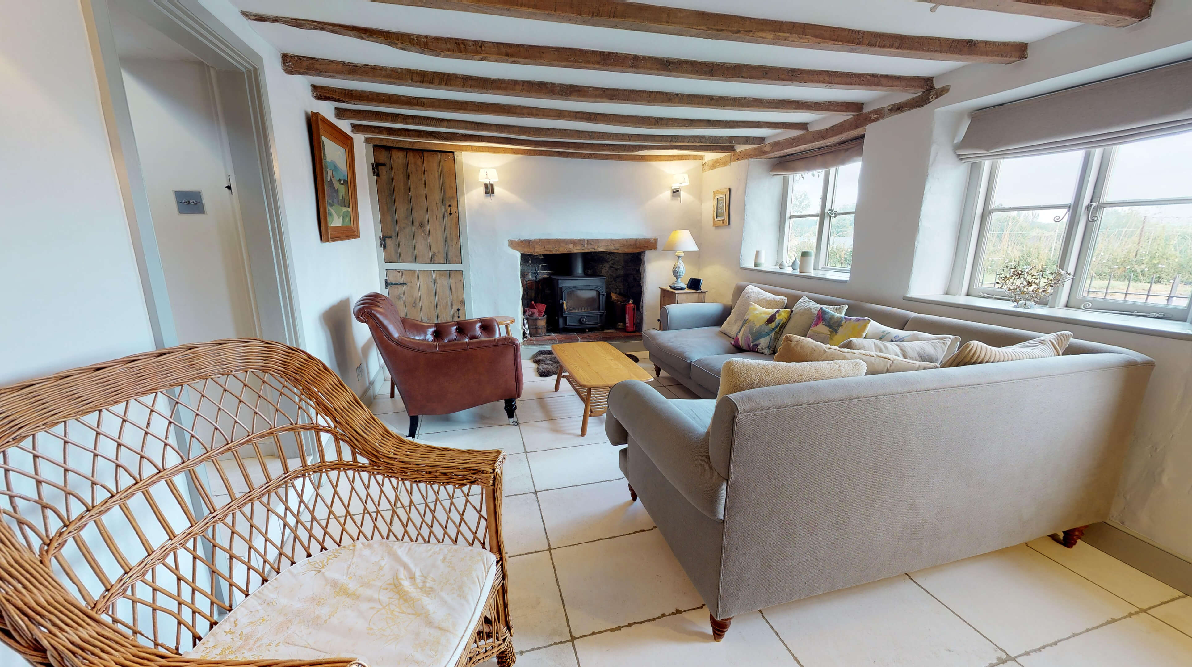 Lower Heyford Three Bedroom Coopers Cottage Living Room 3