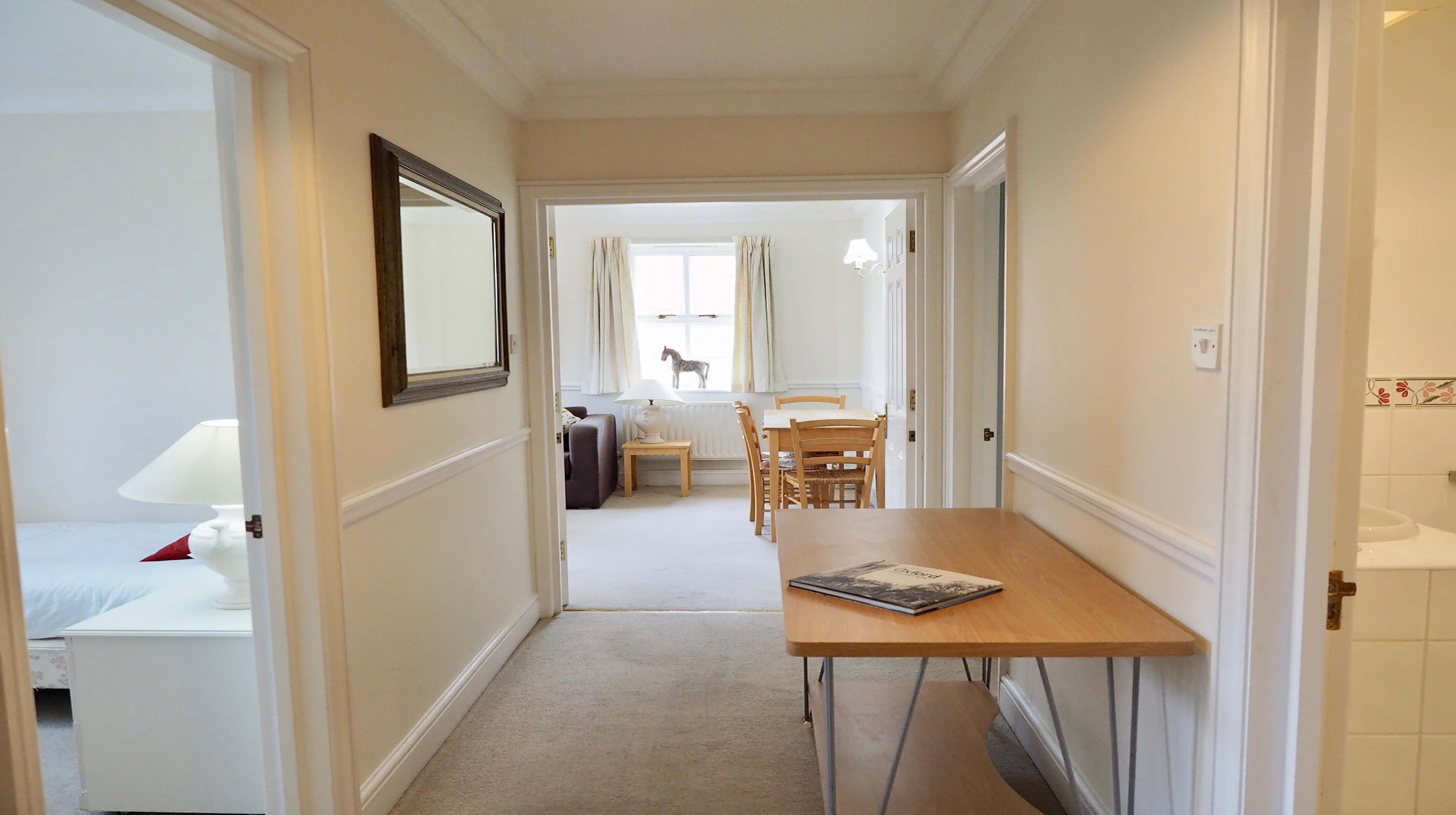 Oxford Two Bedroom Bishop Kirk Place Hallway 2
