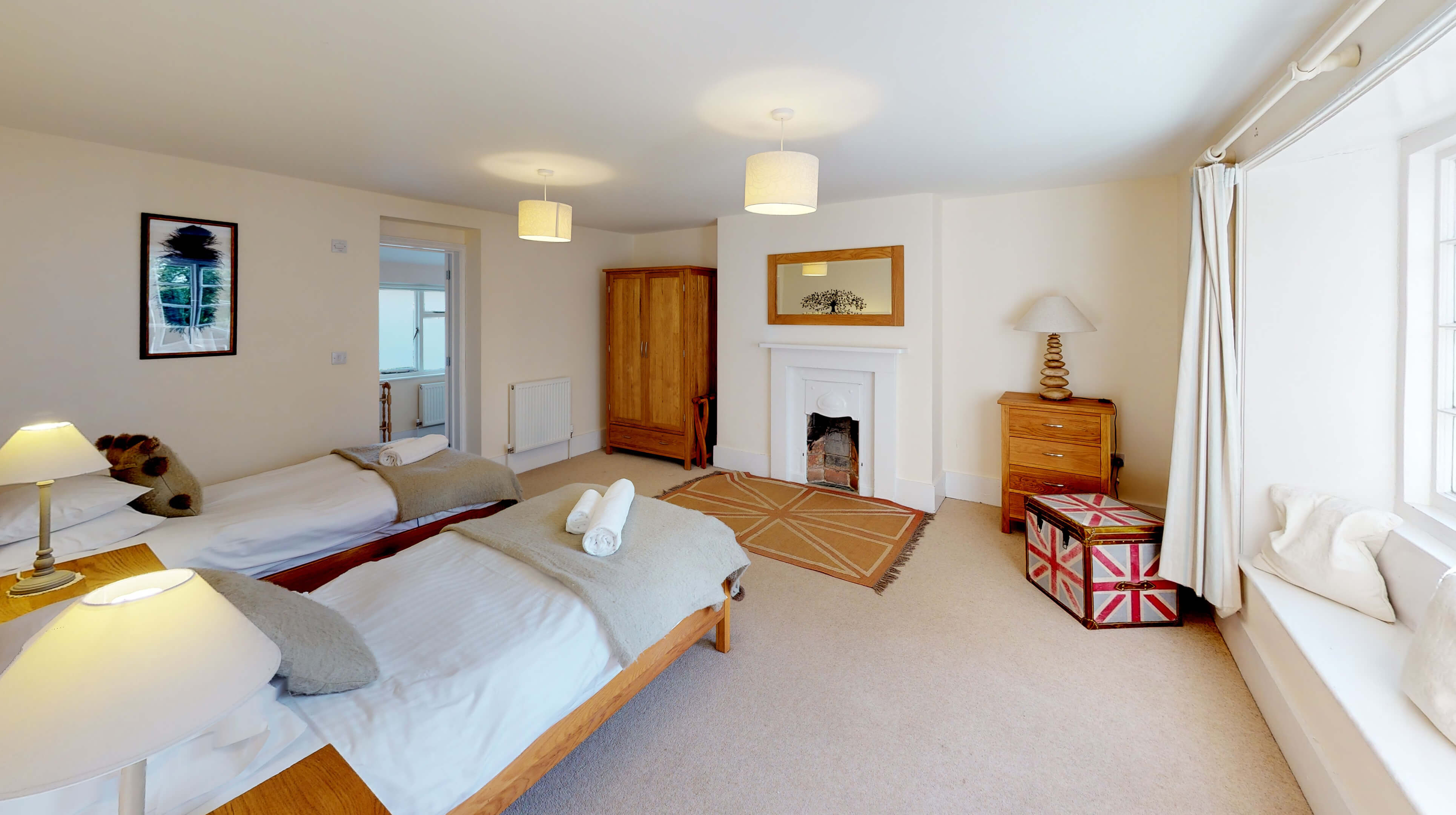 Bladon Two Bedroom Home Farm Cottage Bedroom Two 1