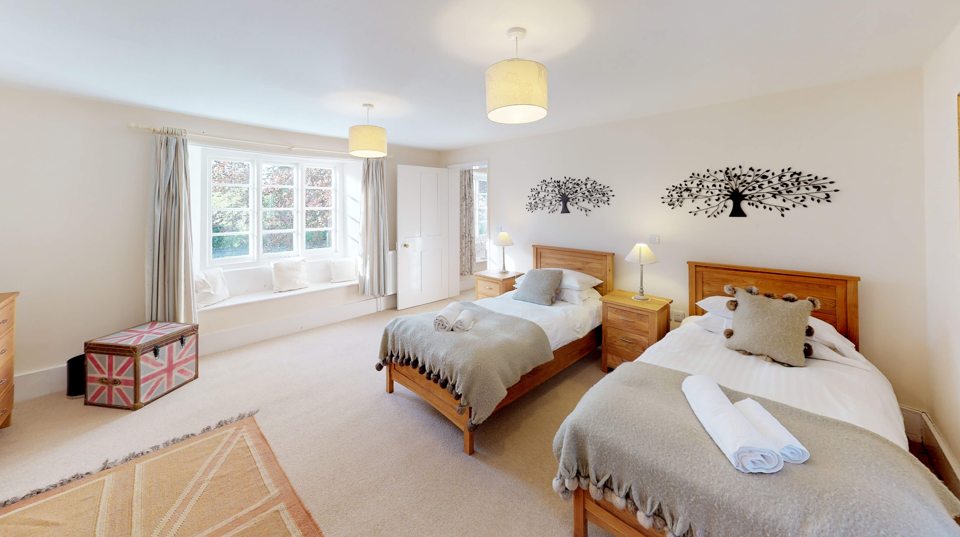 Bladon Two Bedroom Home Farm Cottage Bedroom Two 2