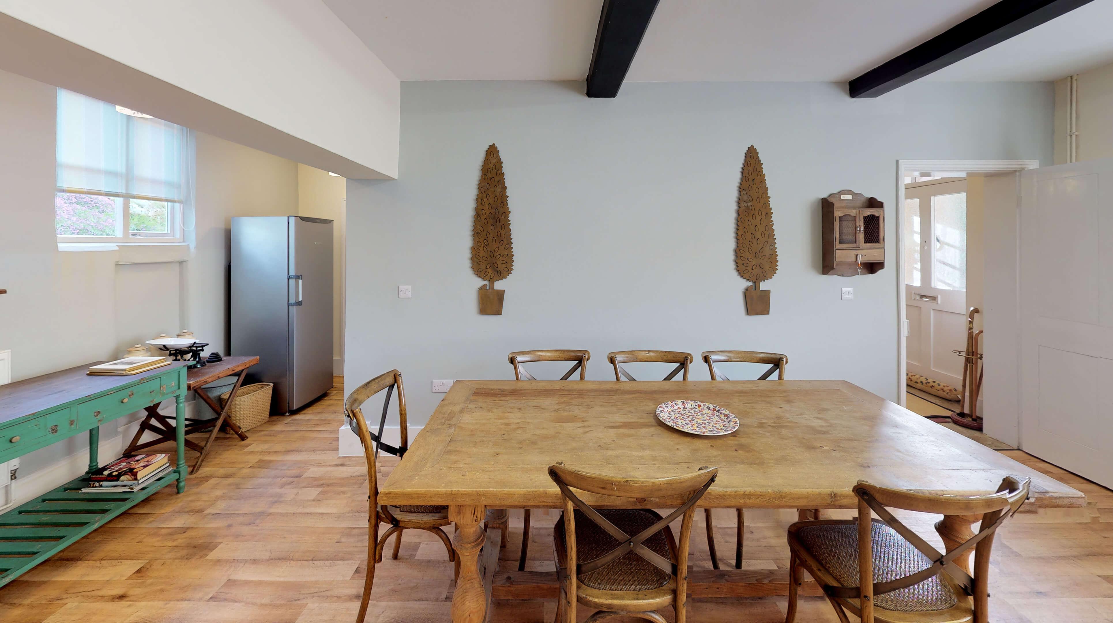 Bladon Two Bedroom Home Farm Cottage Kitchen 1
