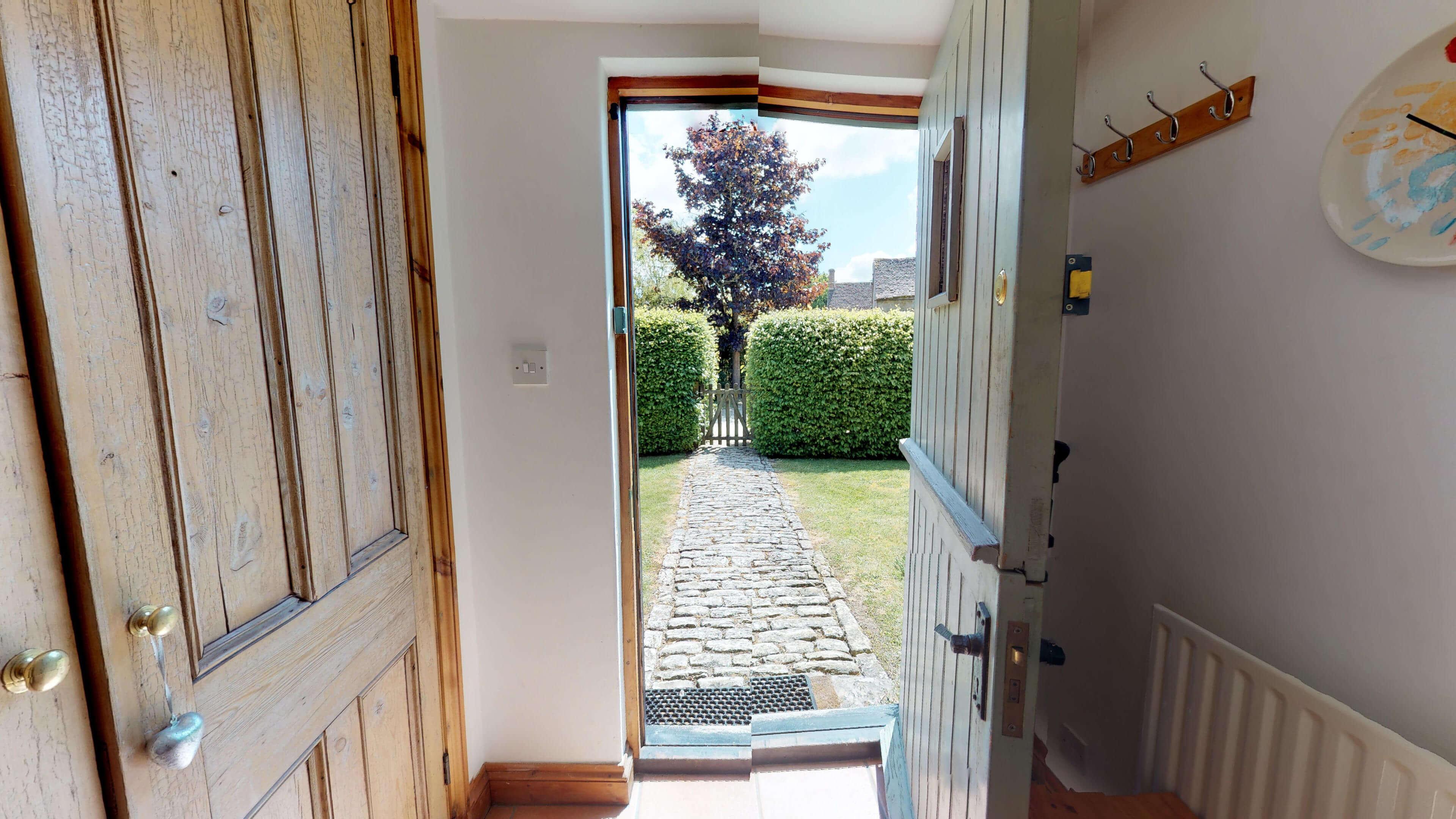 Butlers Stall Front Door View