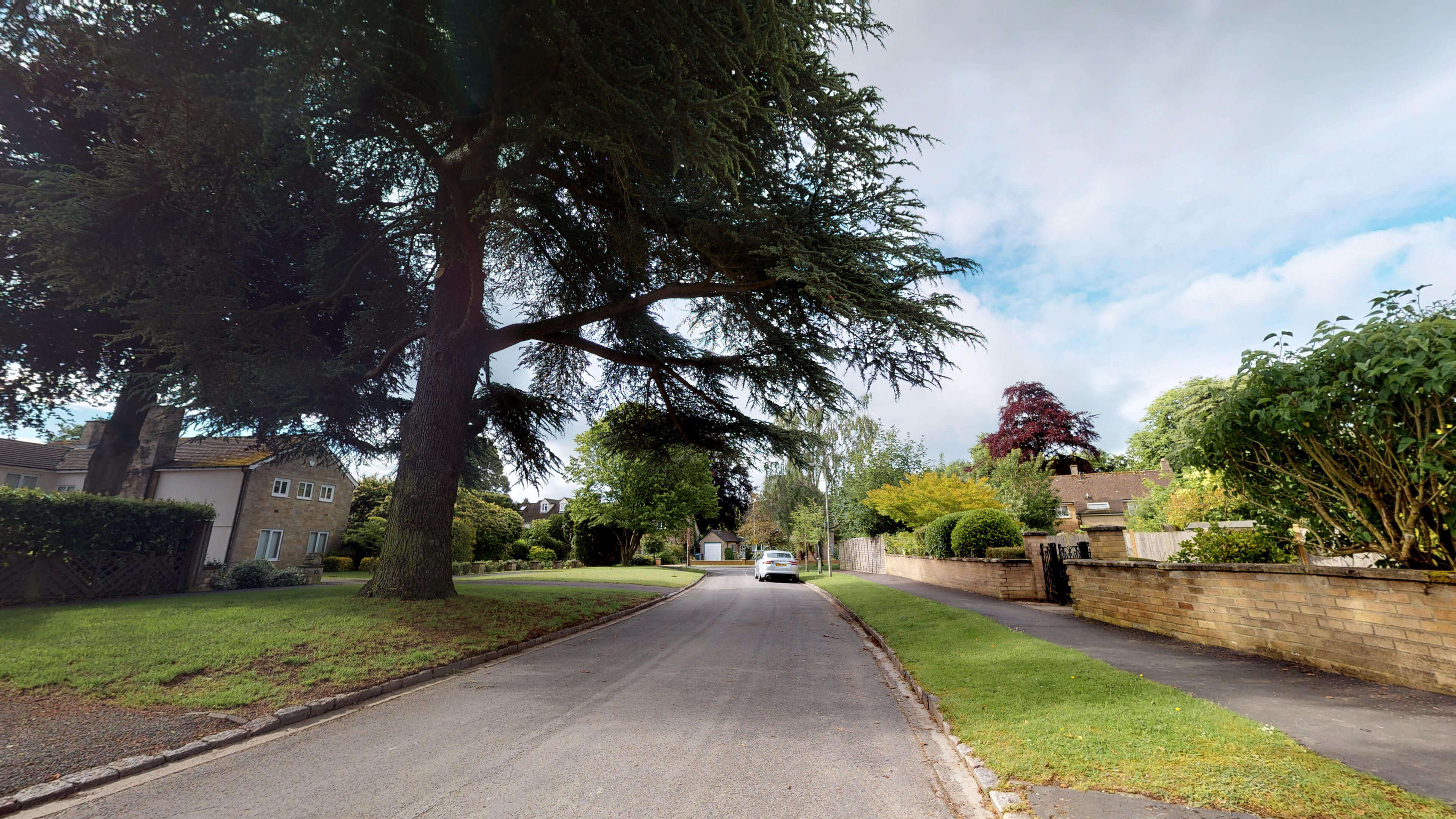 Blenheim Gate Road View