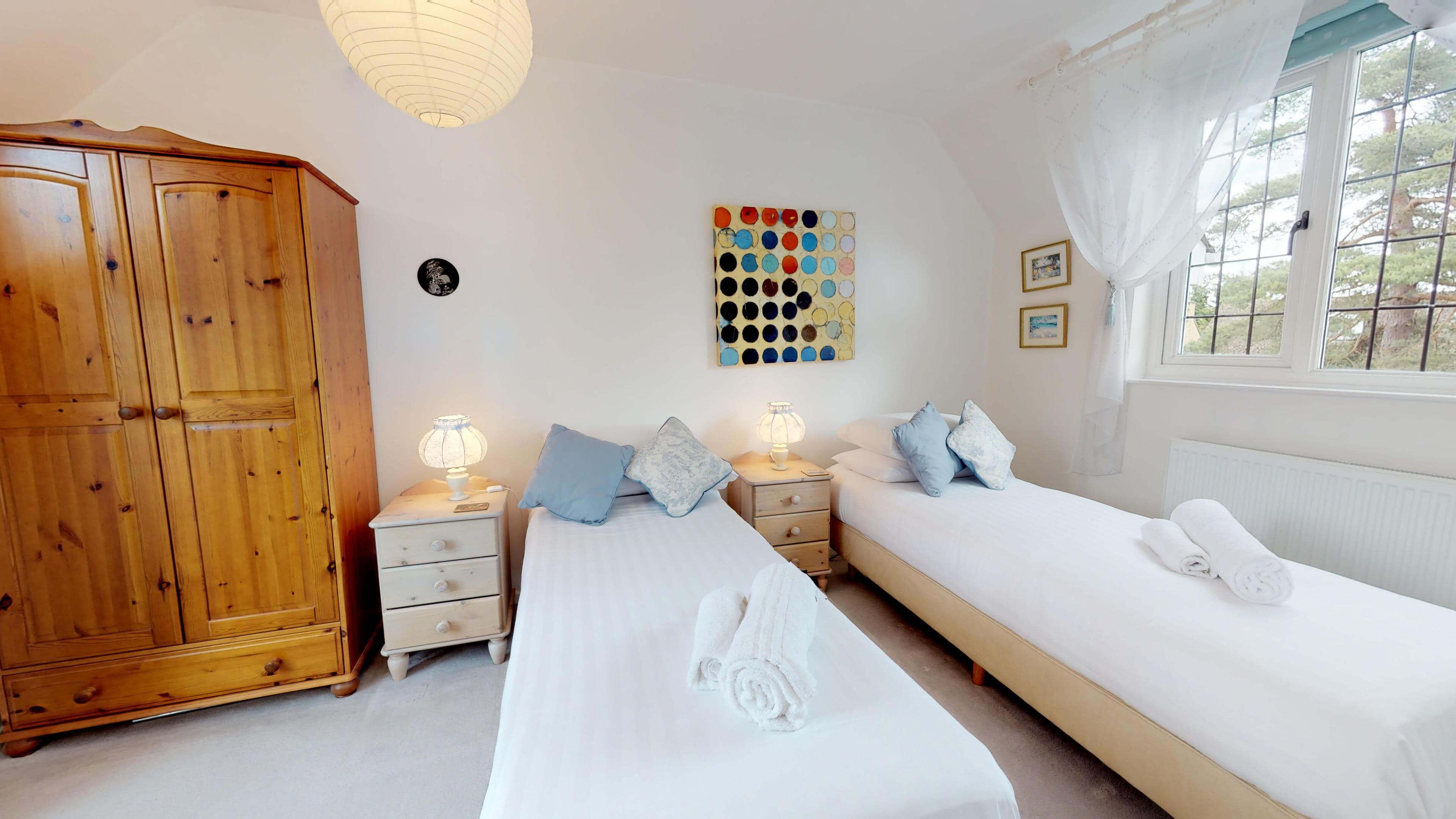 Blenheim Gate Twin Bedroom 2