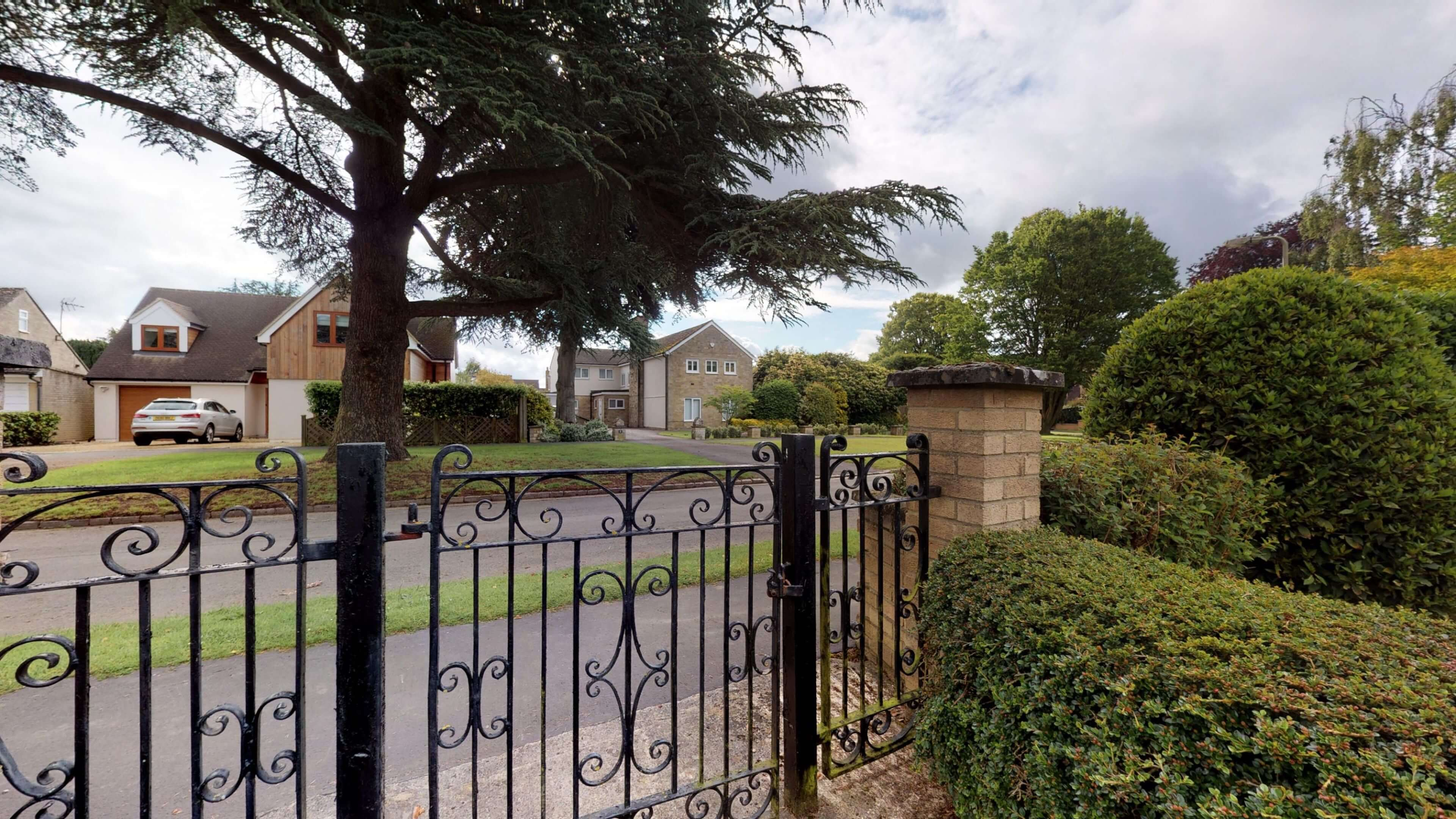 Blenheim Gate View From Gate