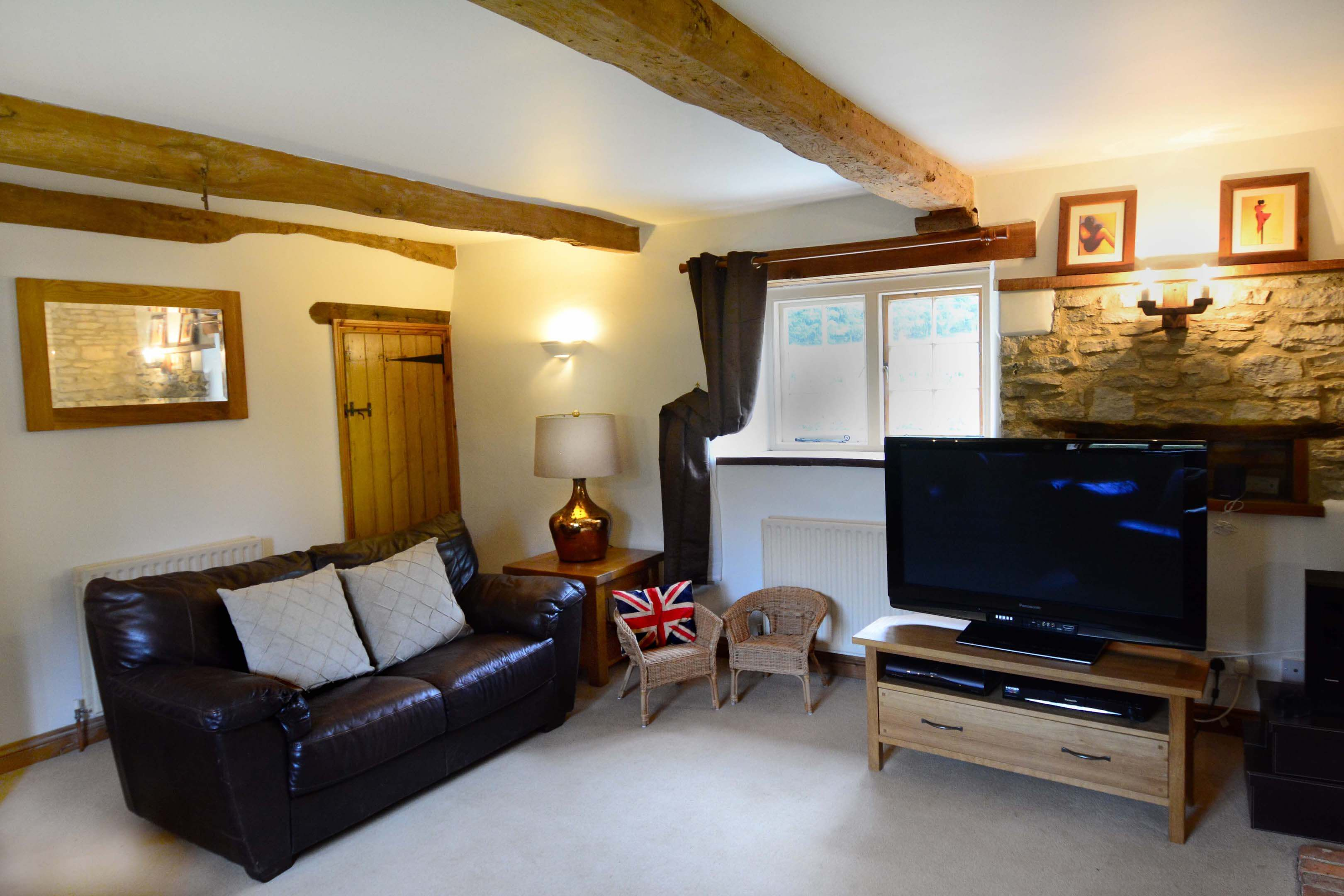 Ramsden Three Bedroom Hutts Bothy Living Room 2