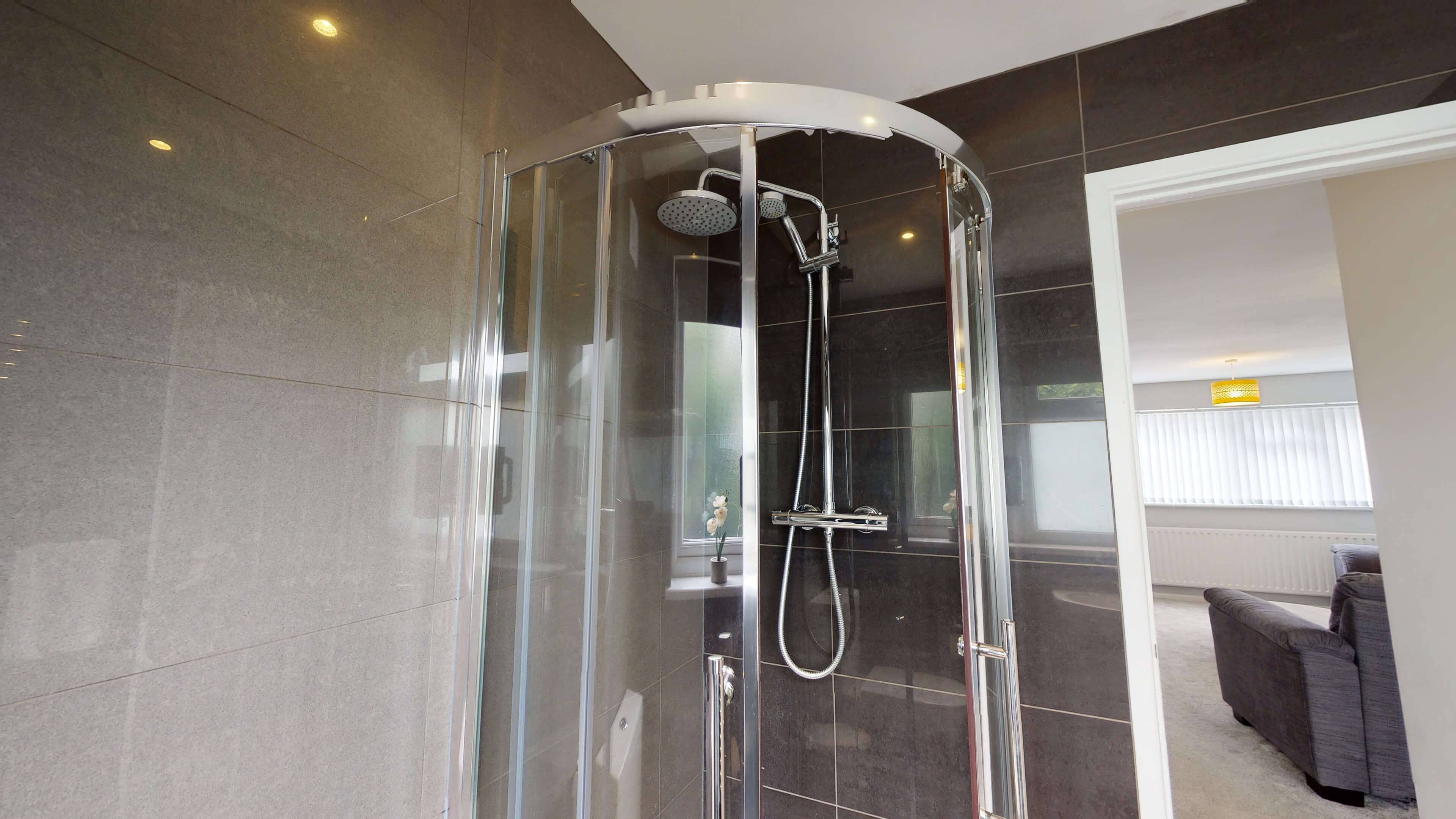 Hollow Way House Bathroom One With Shower