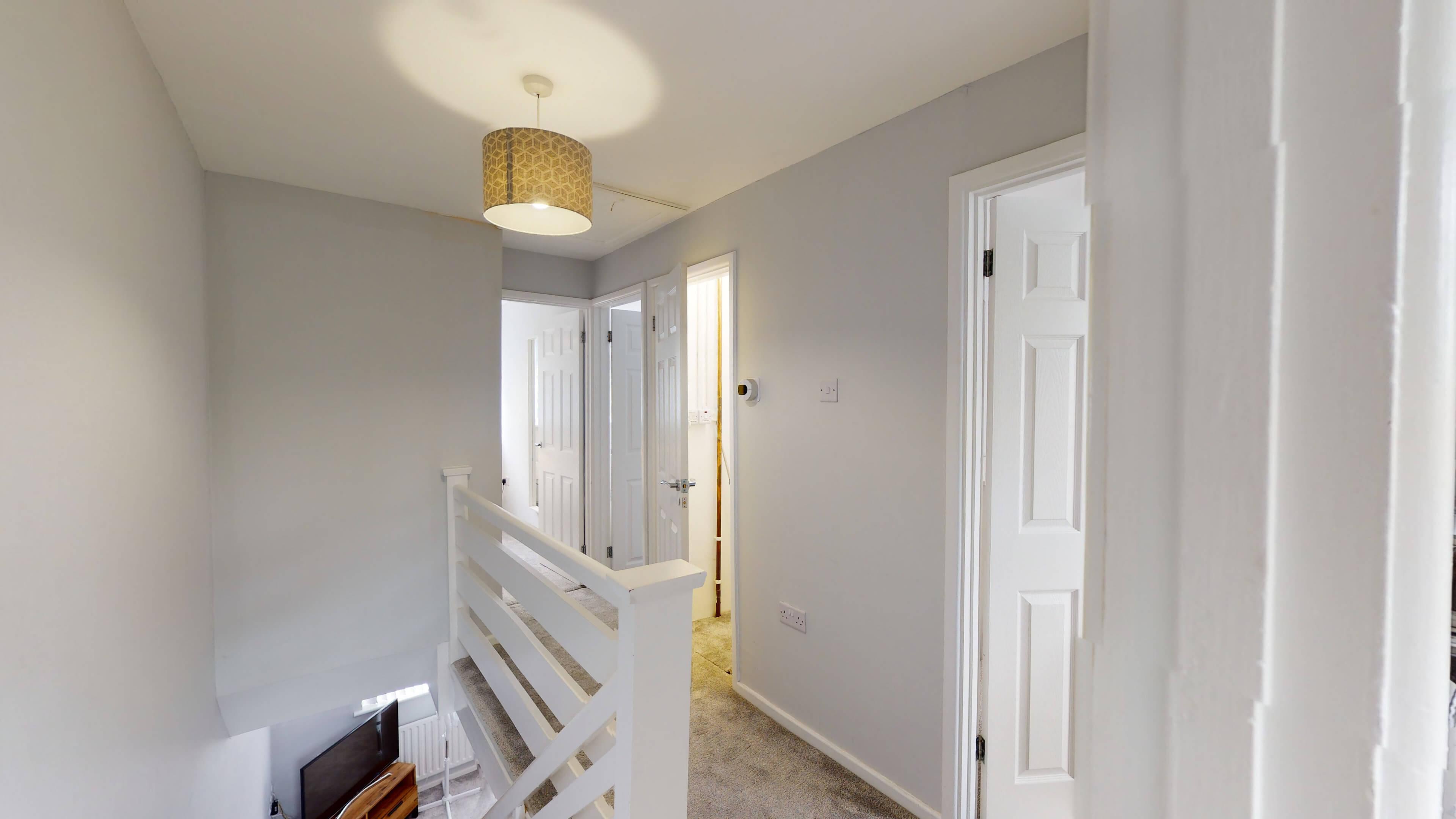 Hollow Way House Second Floor Corridor