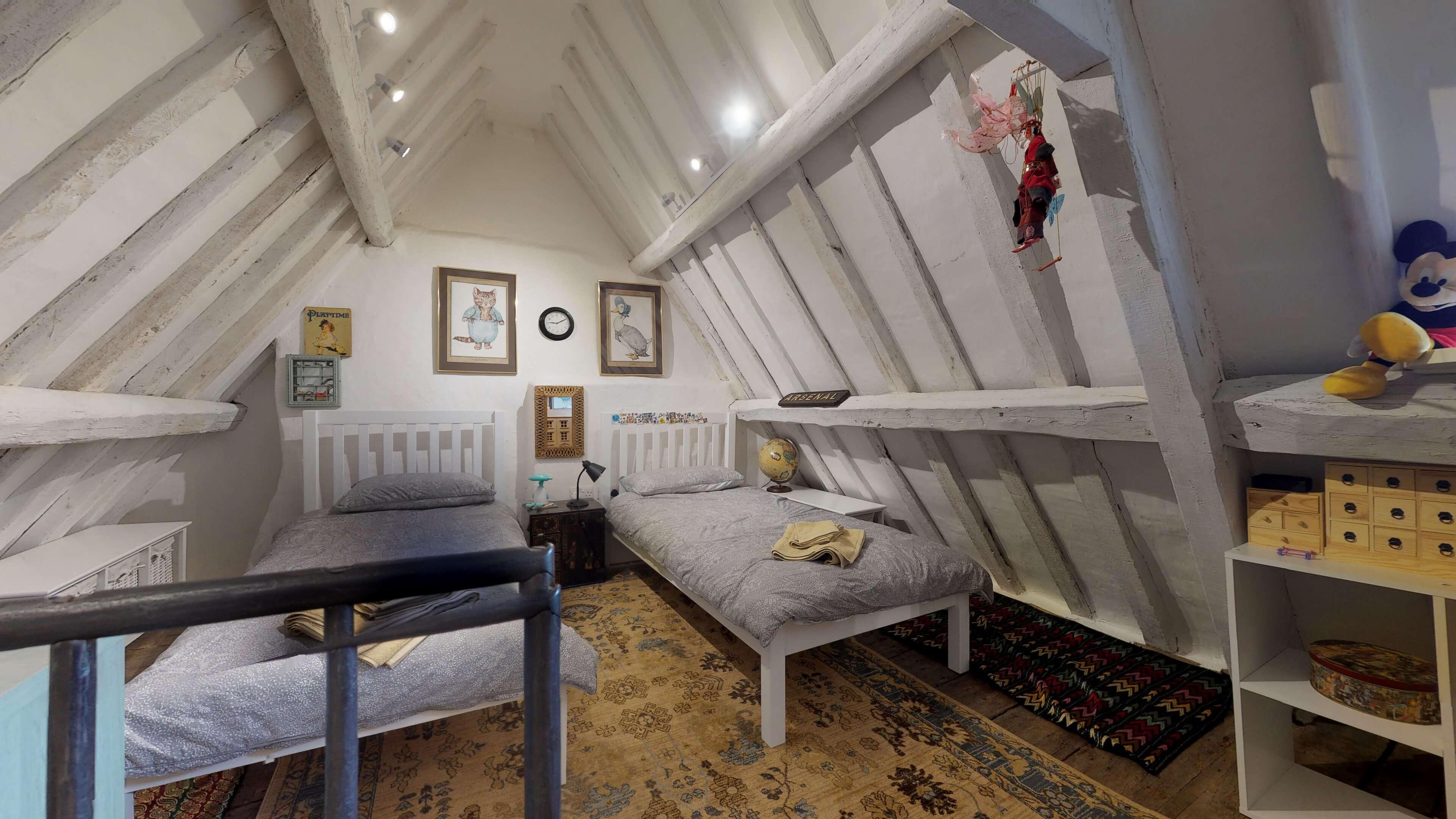Thrupp Cottage Bedroom Three 2