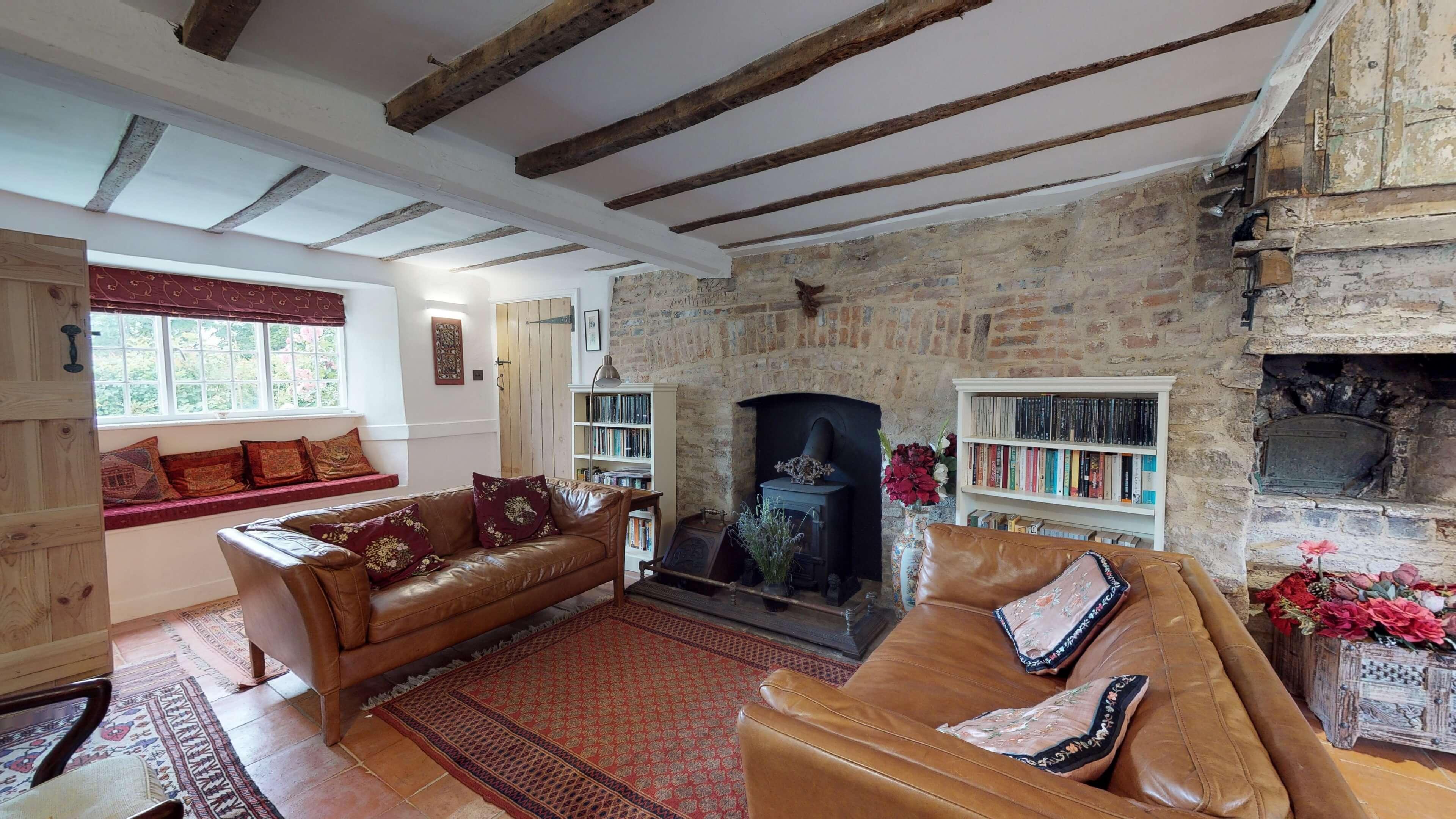 Thrupp Cottage Living Room 2 2