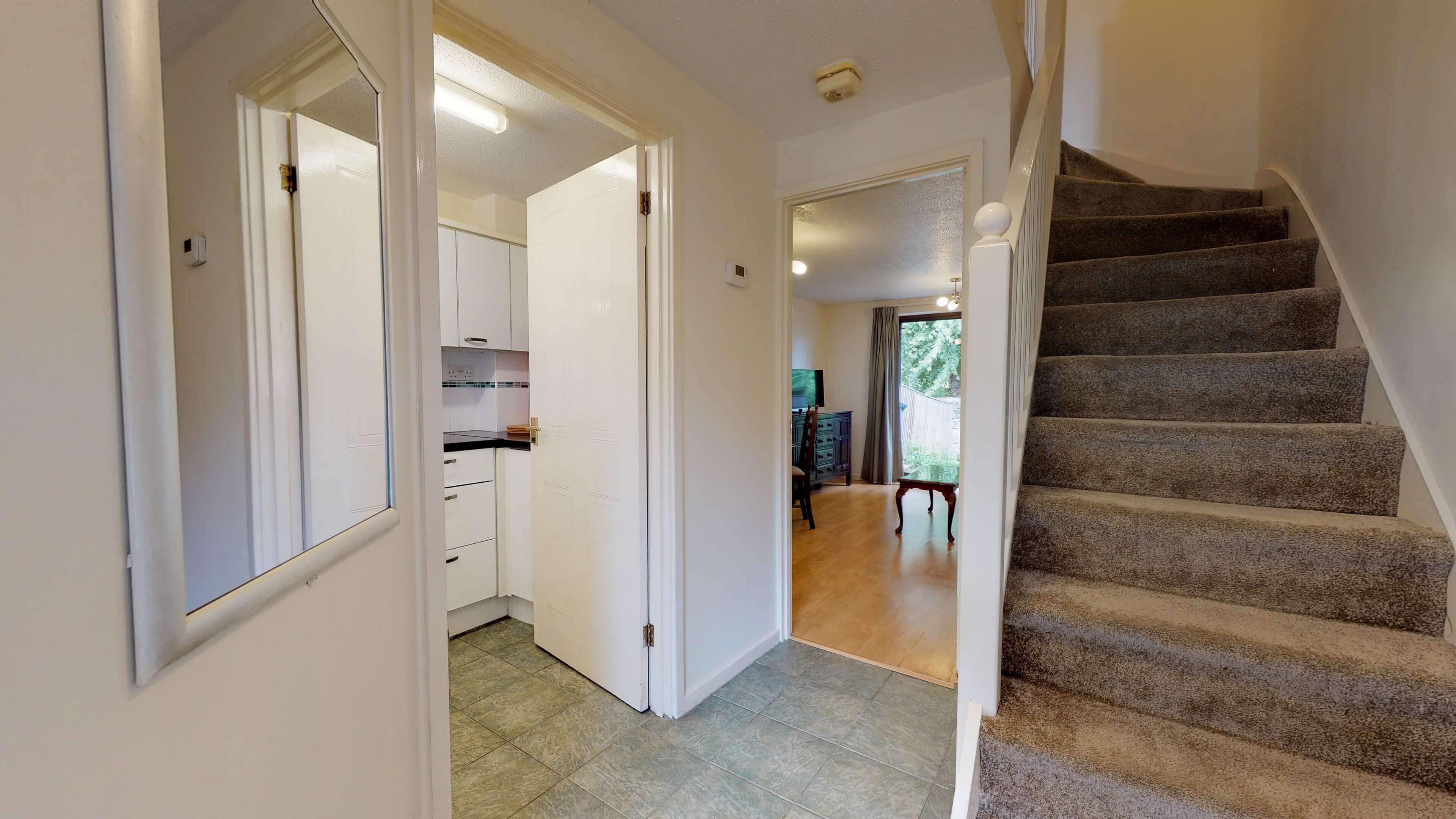 Anne Greenwood Hallway Stairs