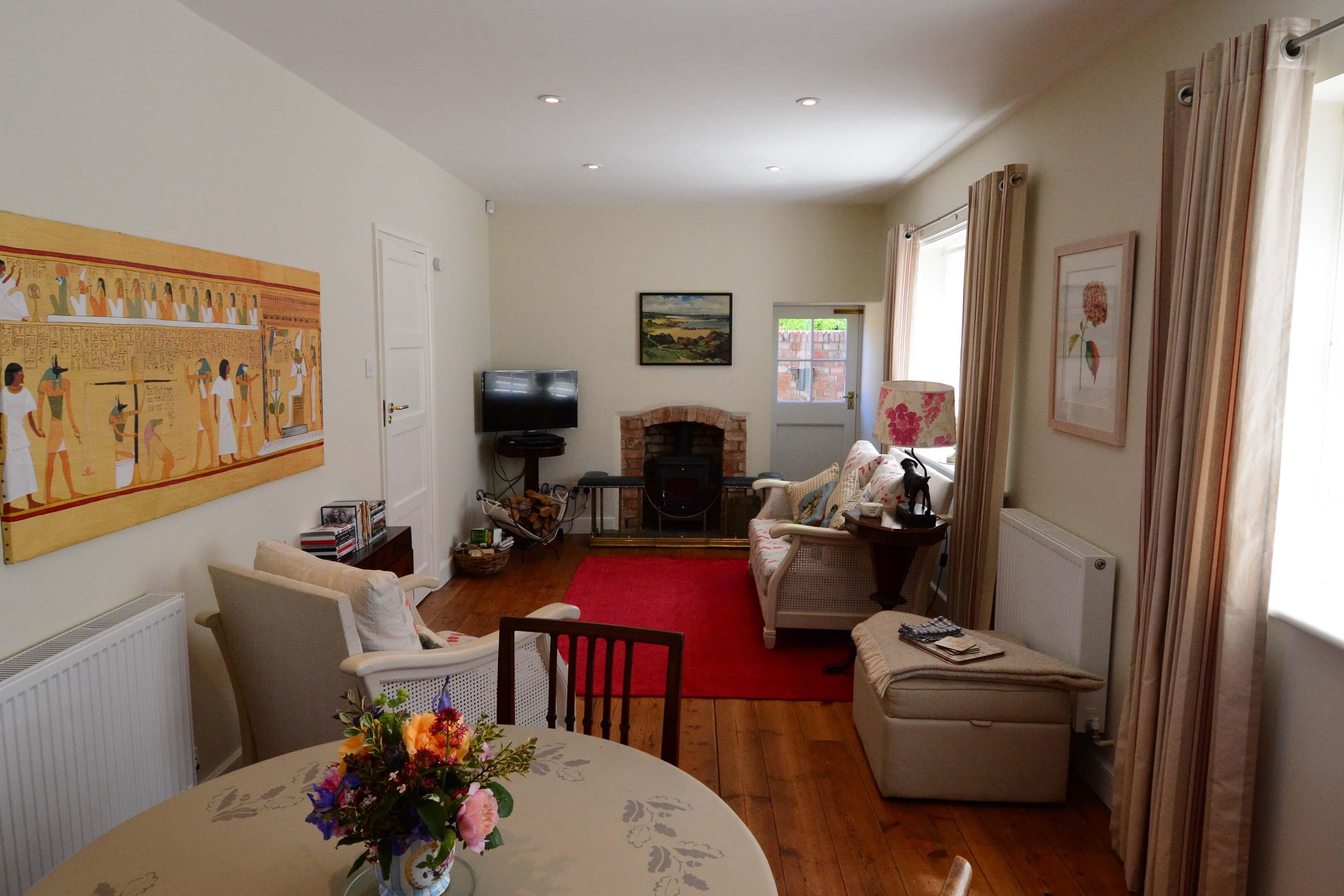 Gardners Cottage Living Room