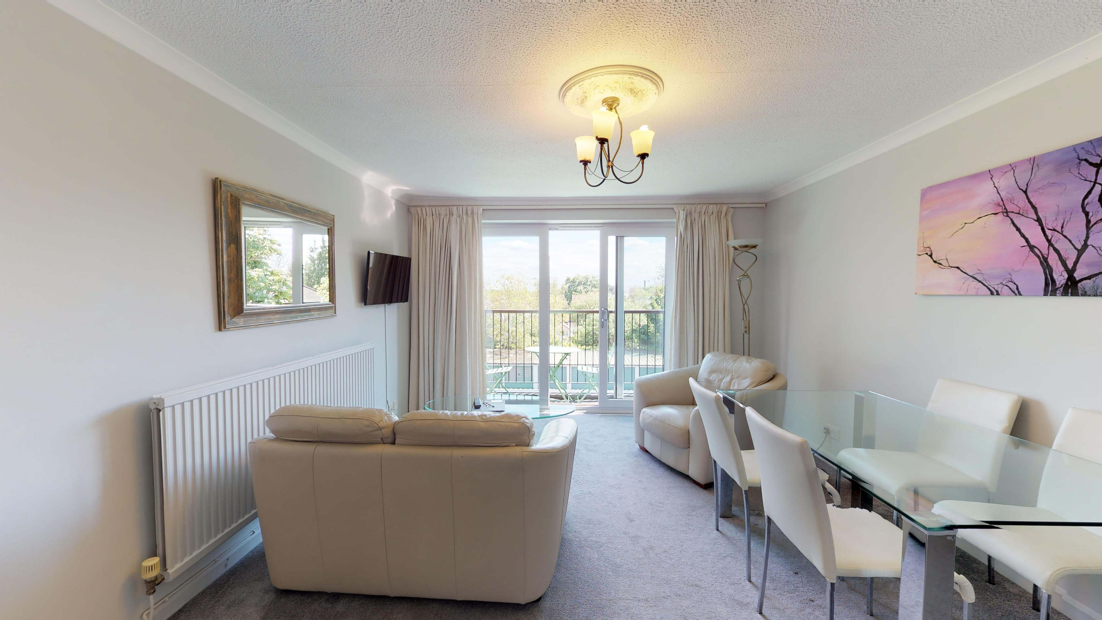 Short Stay Oxford The Firs Apartment Livingroom Oxford Short Let