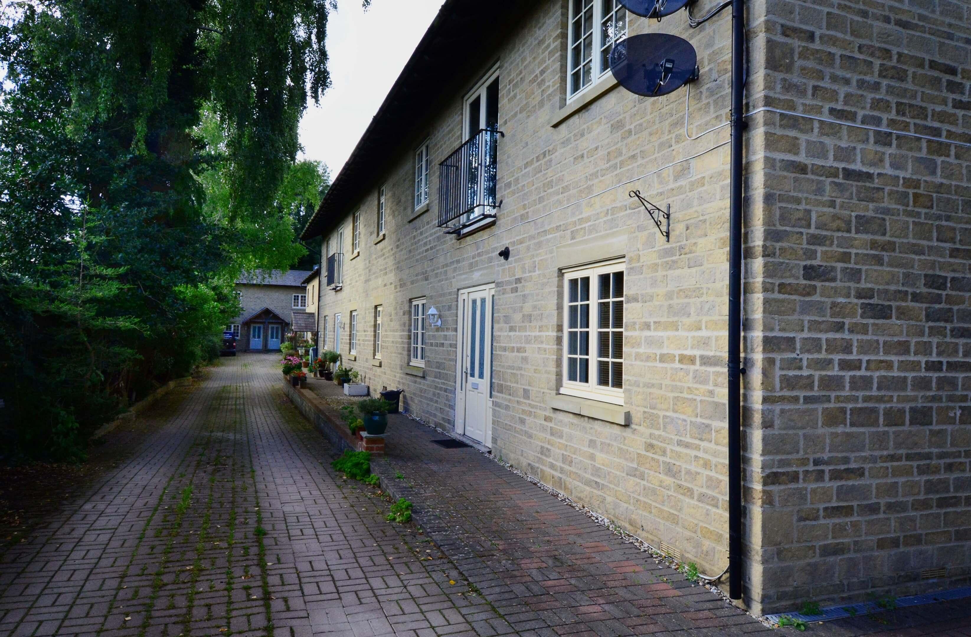 Station Cottage Outside