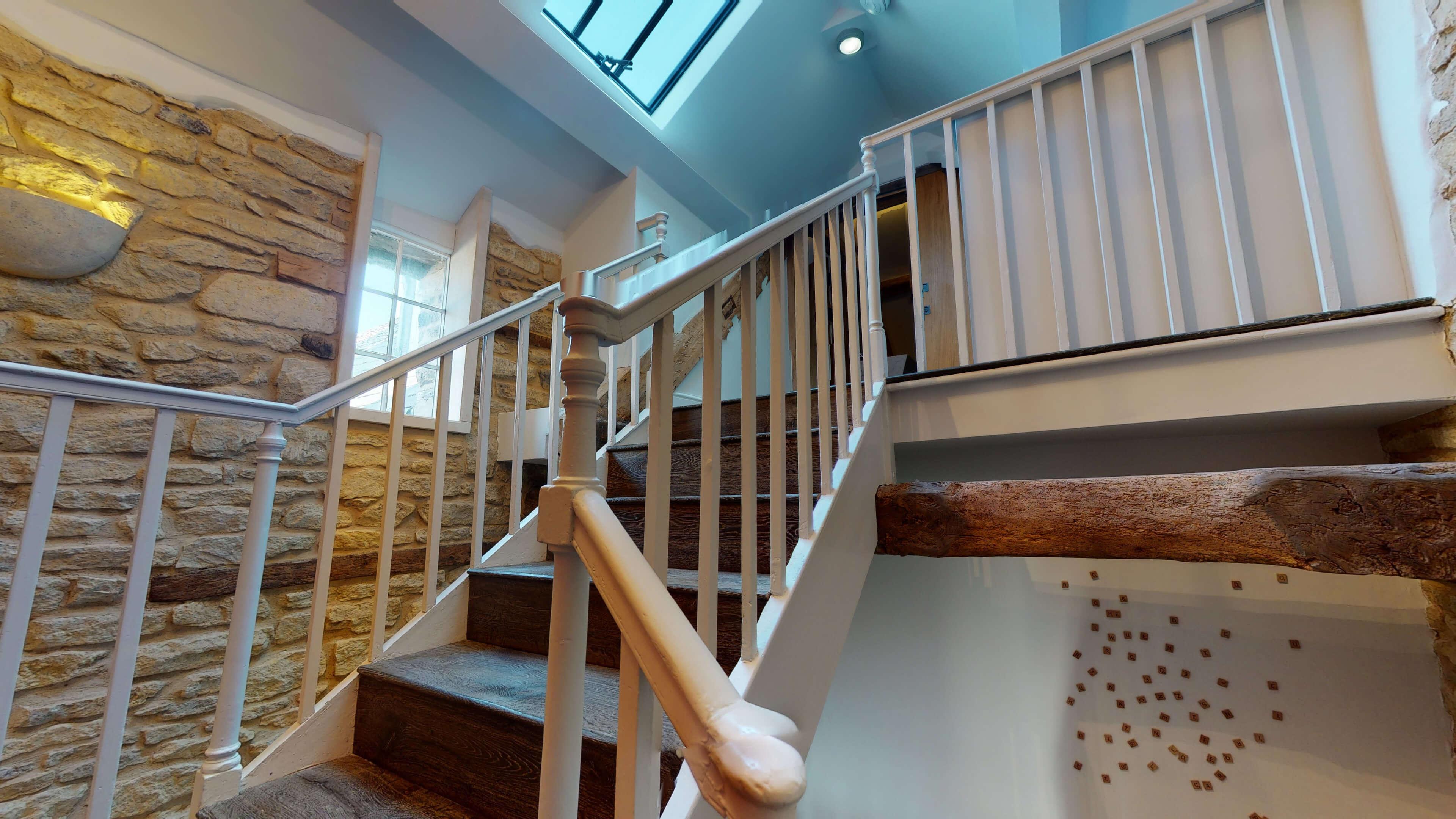 Woodstock Town View Woodstock Town View Stairway