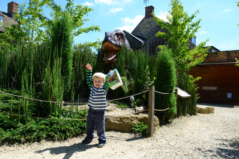 Woodstock Library Dinosaur
