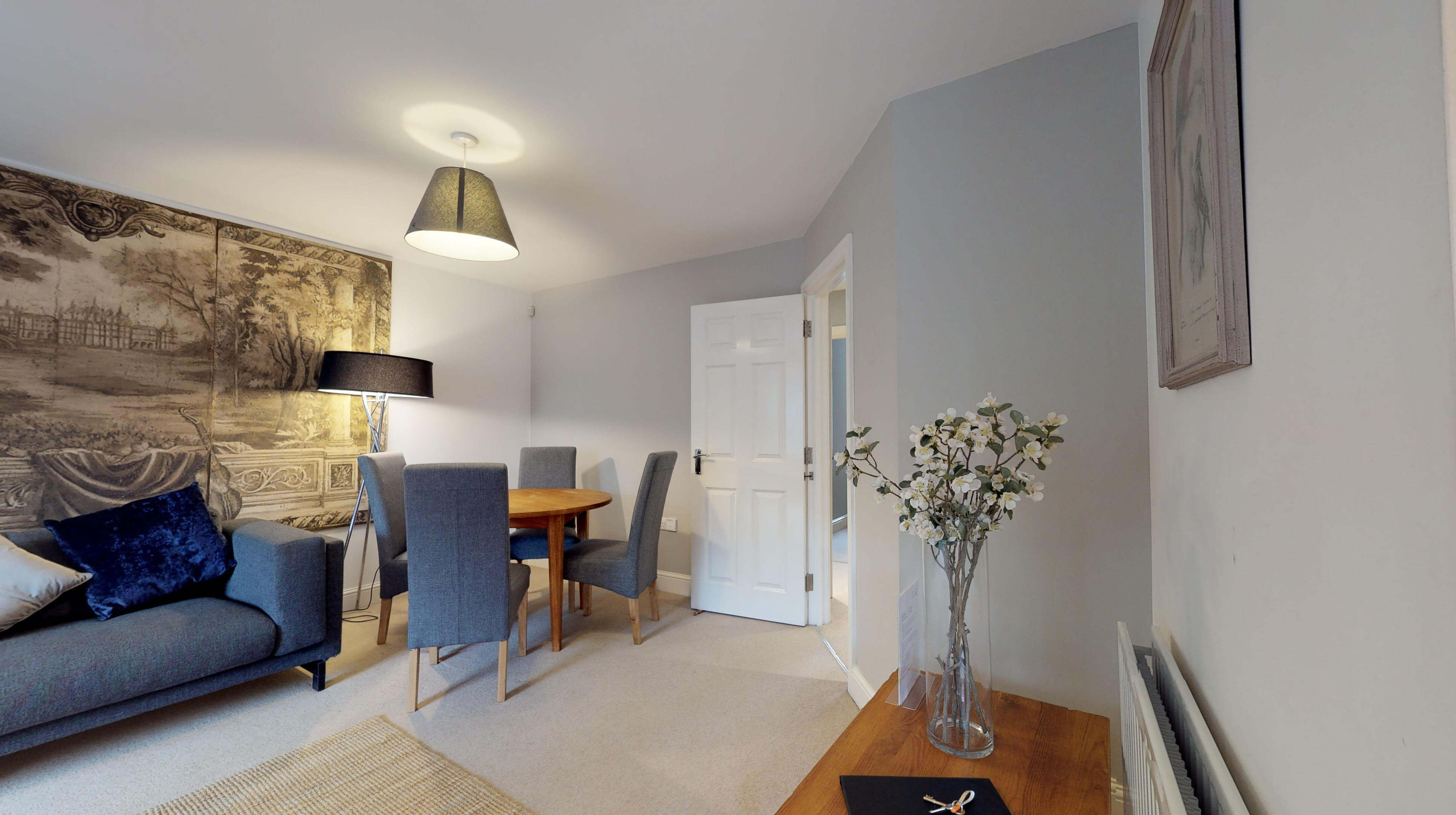 Oxford Serviced Apartments Hensington Suite Livingroom Side