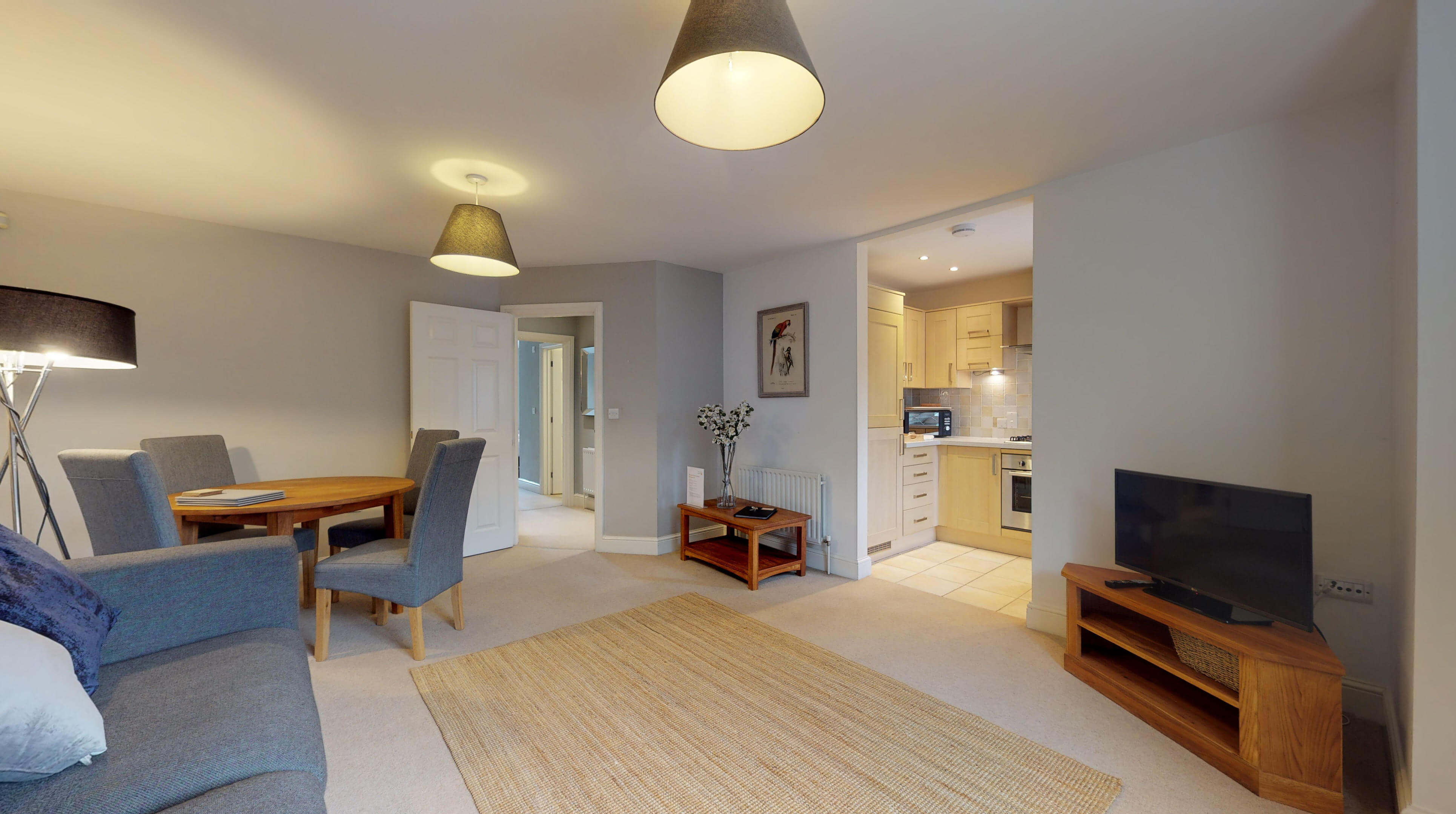 Oxford Serviced Apartments Hensington Suite Livingroom View