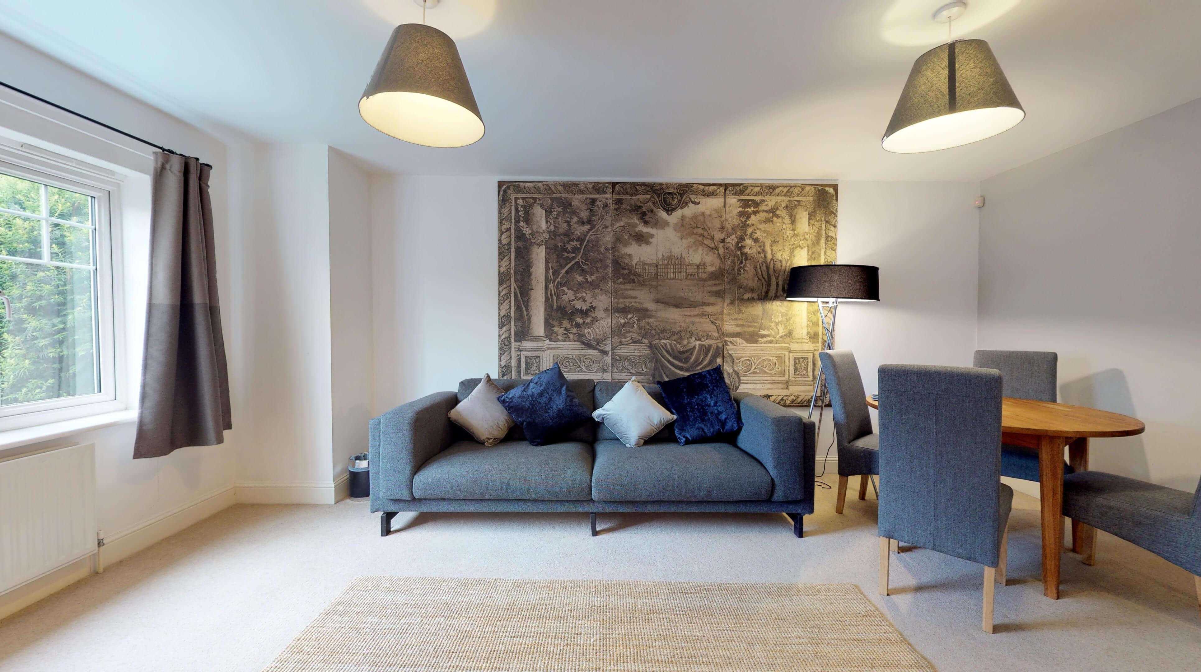 Oxford Serviced Apartments Hensington Suite Livingroom