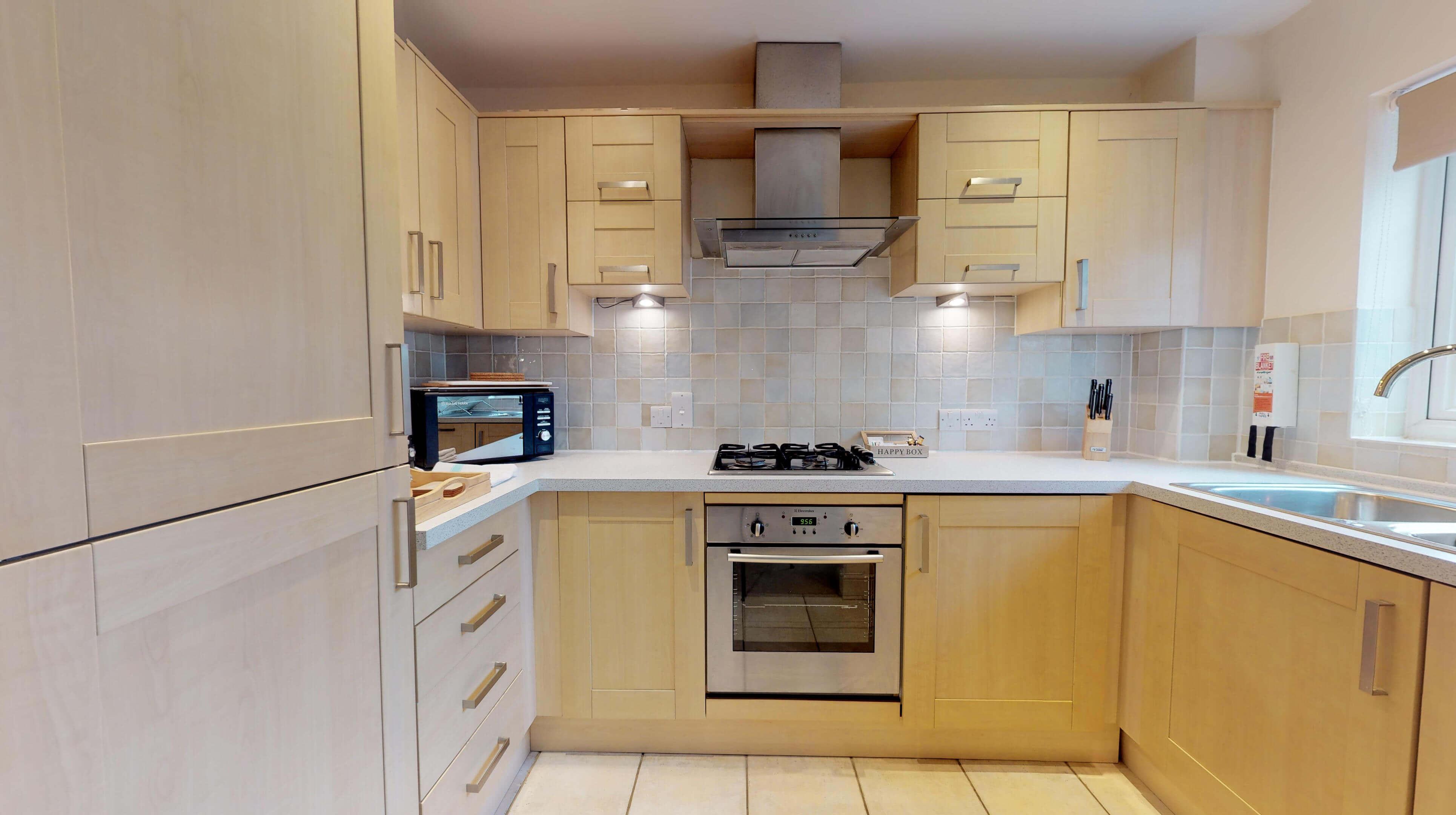 Oxford Serviced Apartments Hensington Suite Kitchen