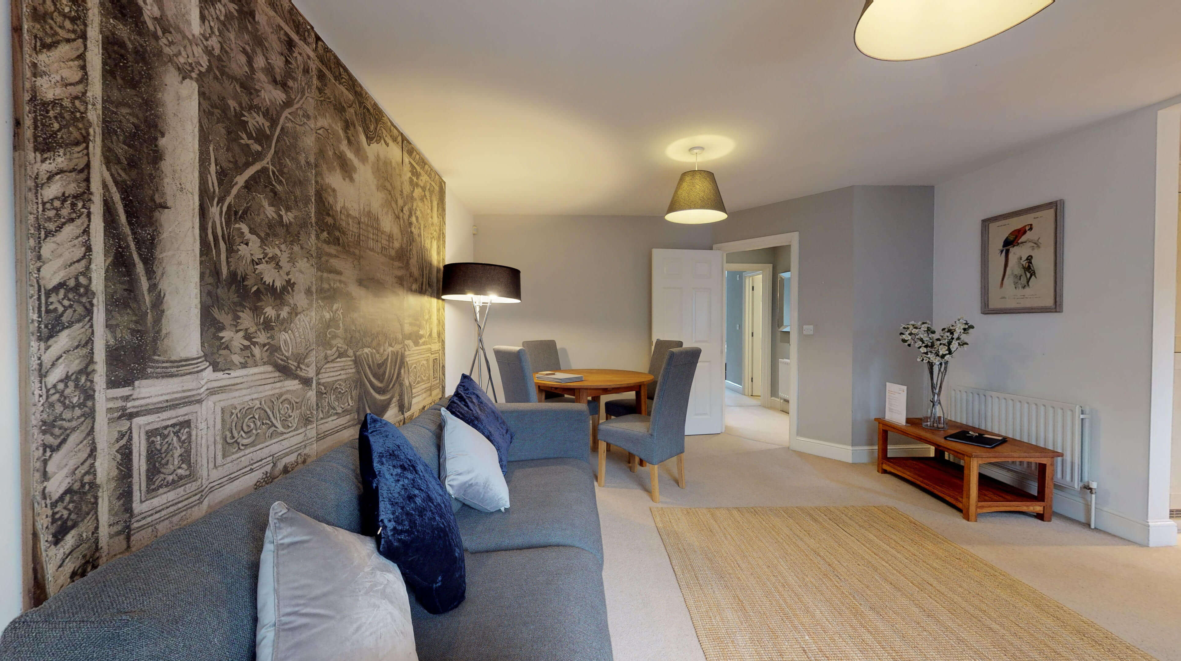 Oxford Serviced Apartments Hensington Suite Living Dining Room