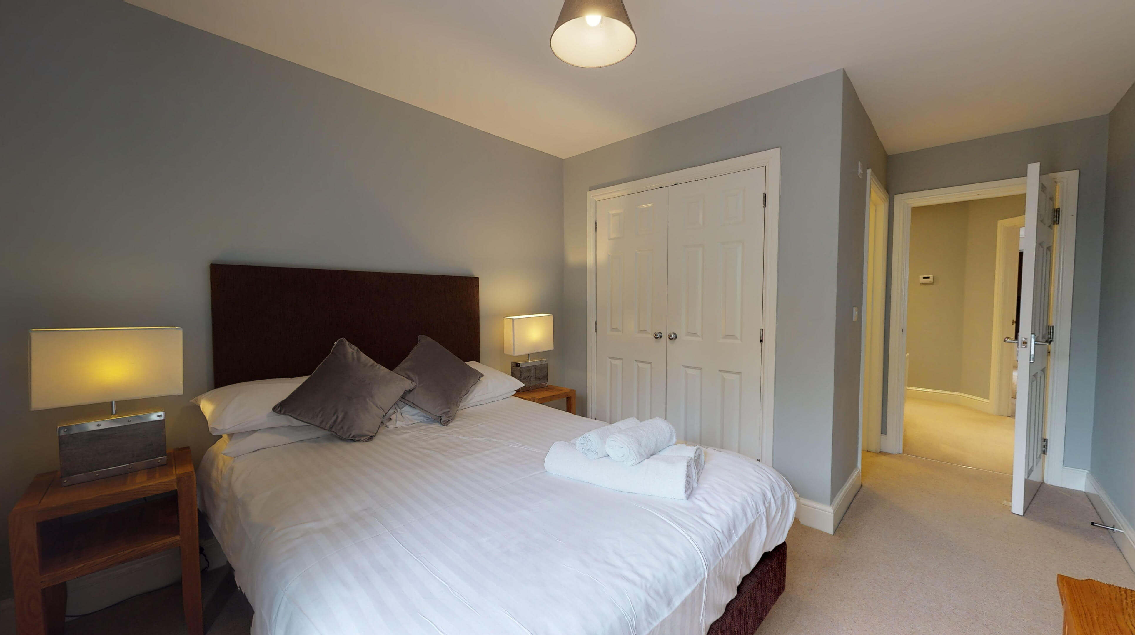Oxford Serviced Apartments Hensington Suite Bedroom One Side