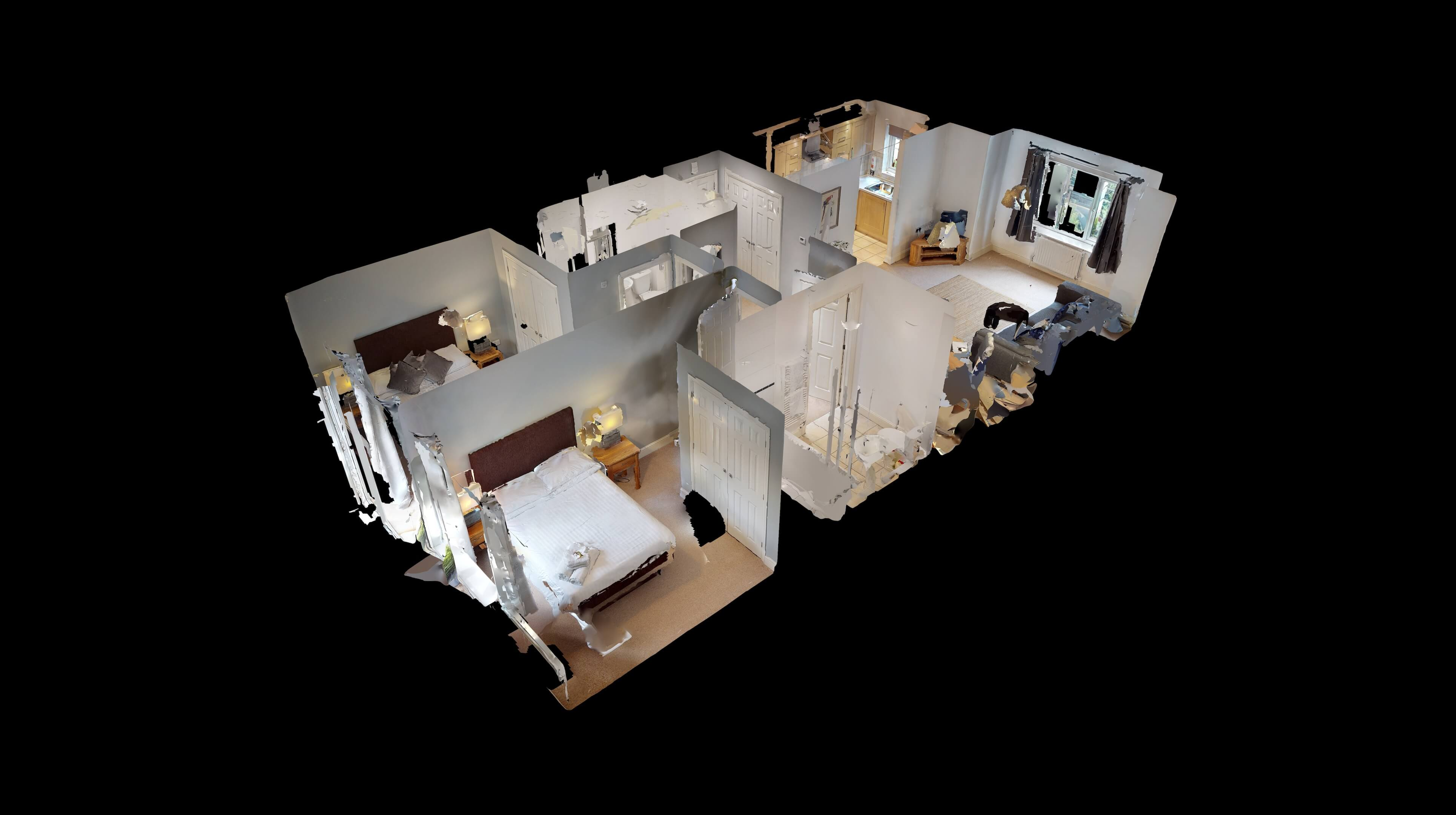 Oxford Serviced Apartments Hensington Suite Dollhouse View