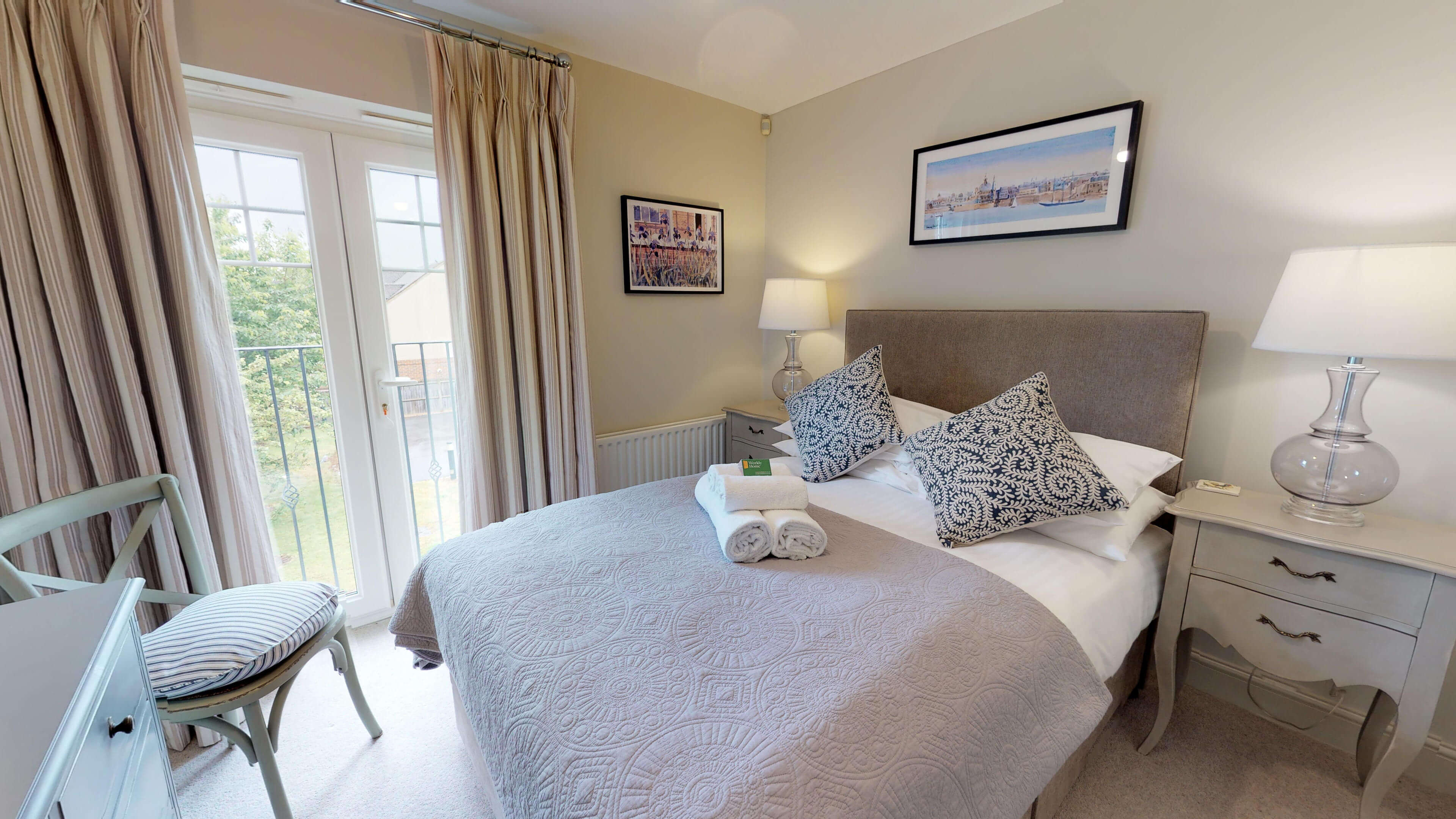 Oxford Serviced Apartments Hensington Suite Bedroom One Bed