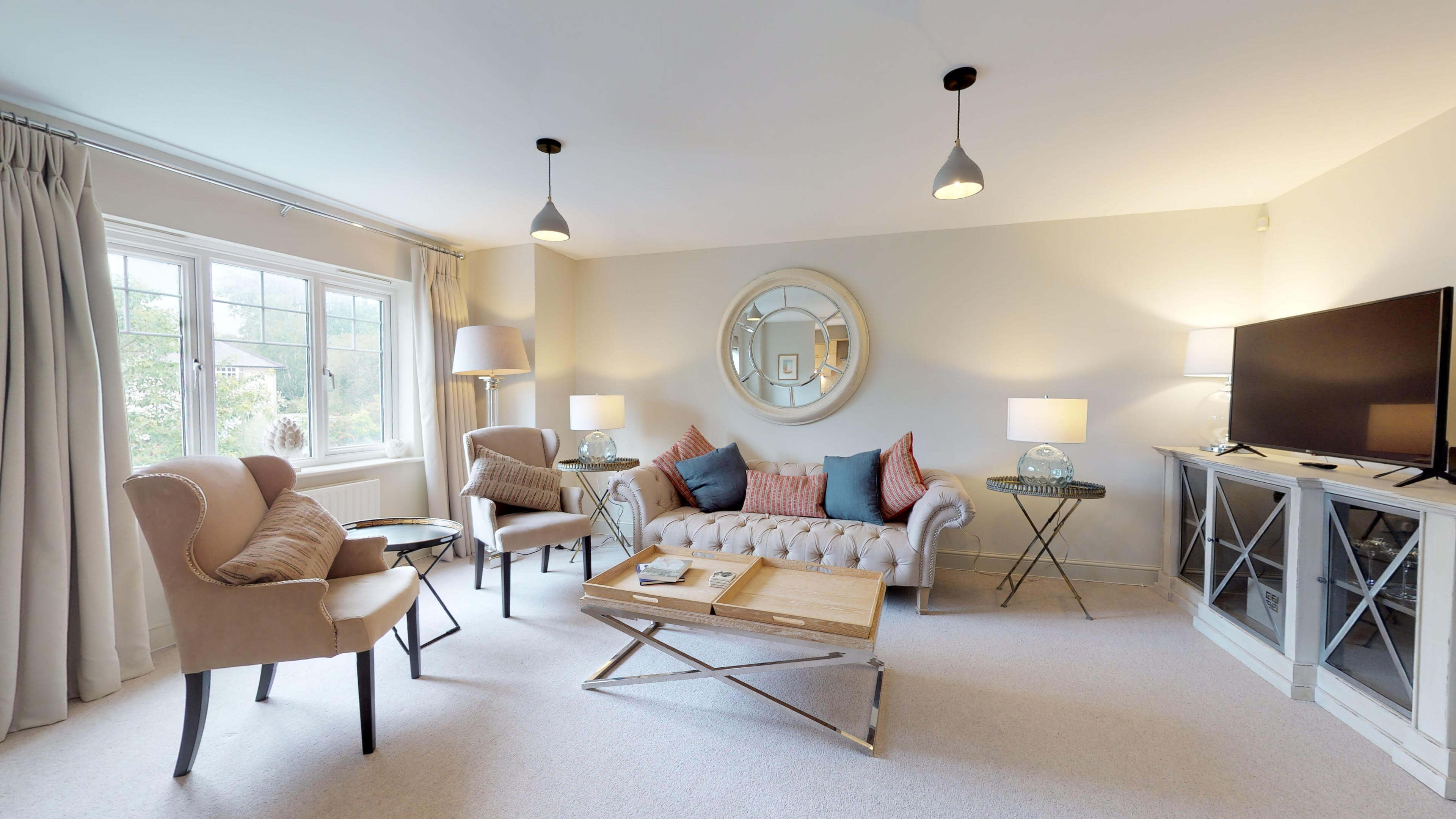 Oxford Serviced Apartments Hensington Suite Living Room View
