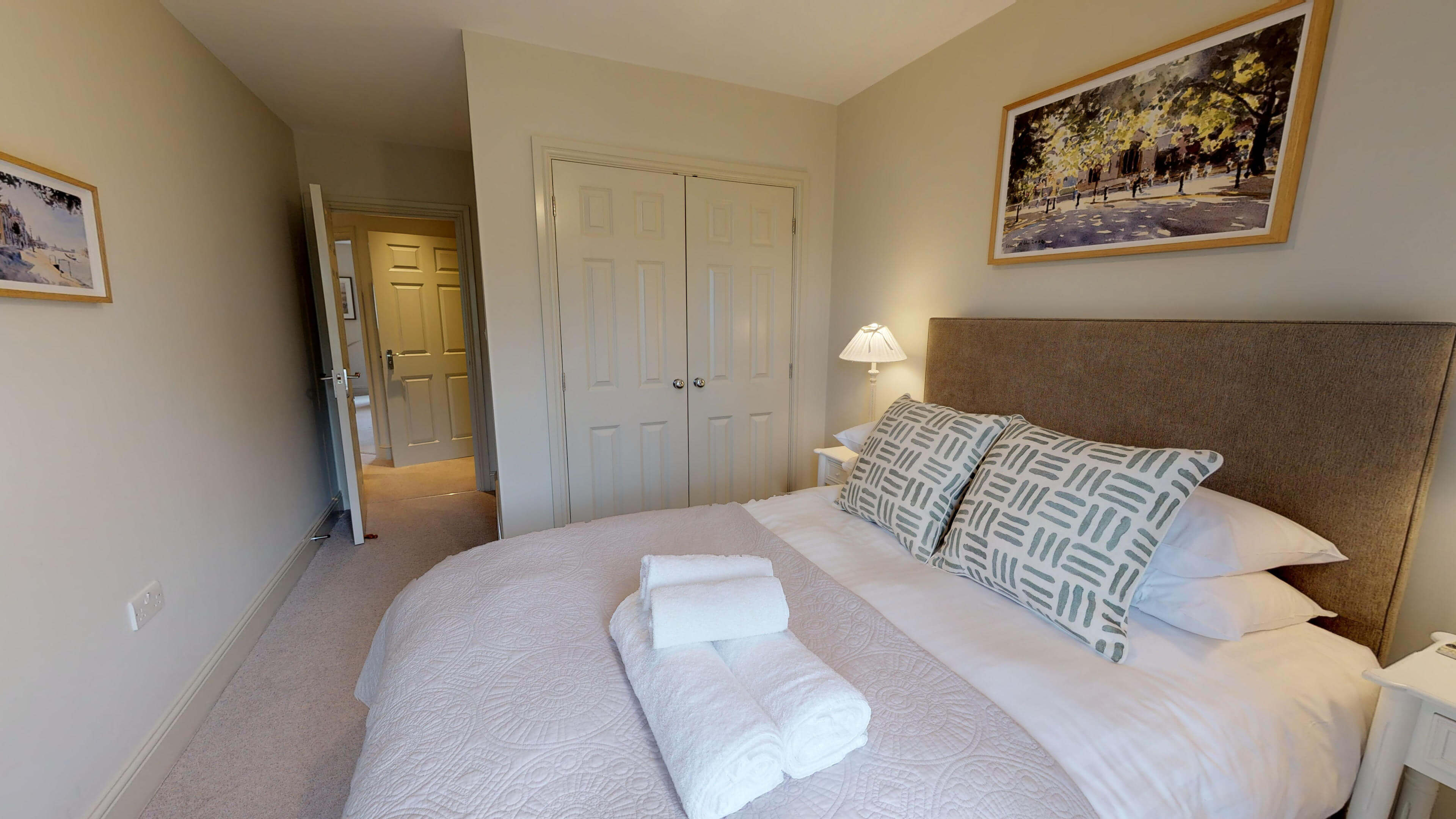 Oxford Serviced Apartments Hensington Suite Bedroom Two View