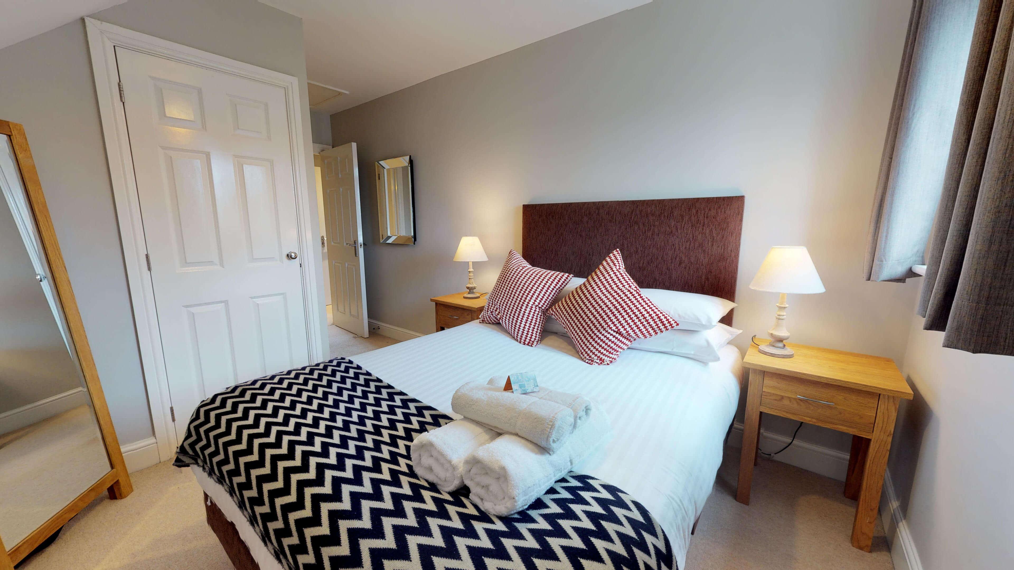 Oxford Serviced Apartment Vanbrugh Spencer Suite Bedroom One Side