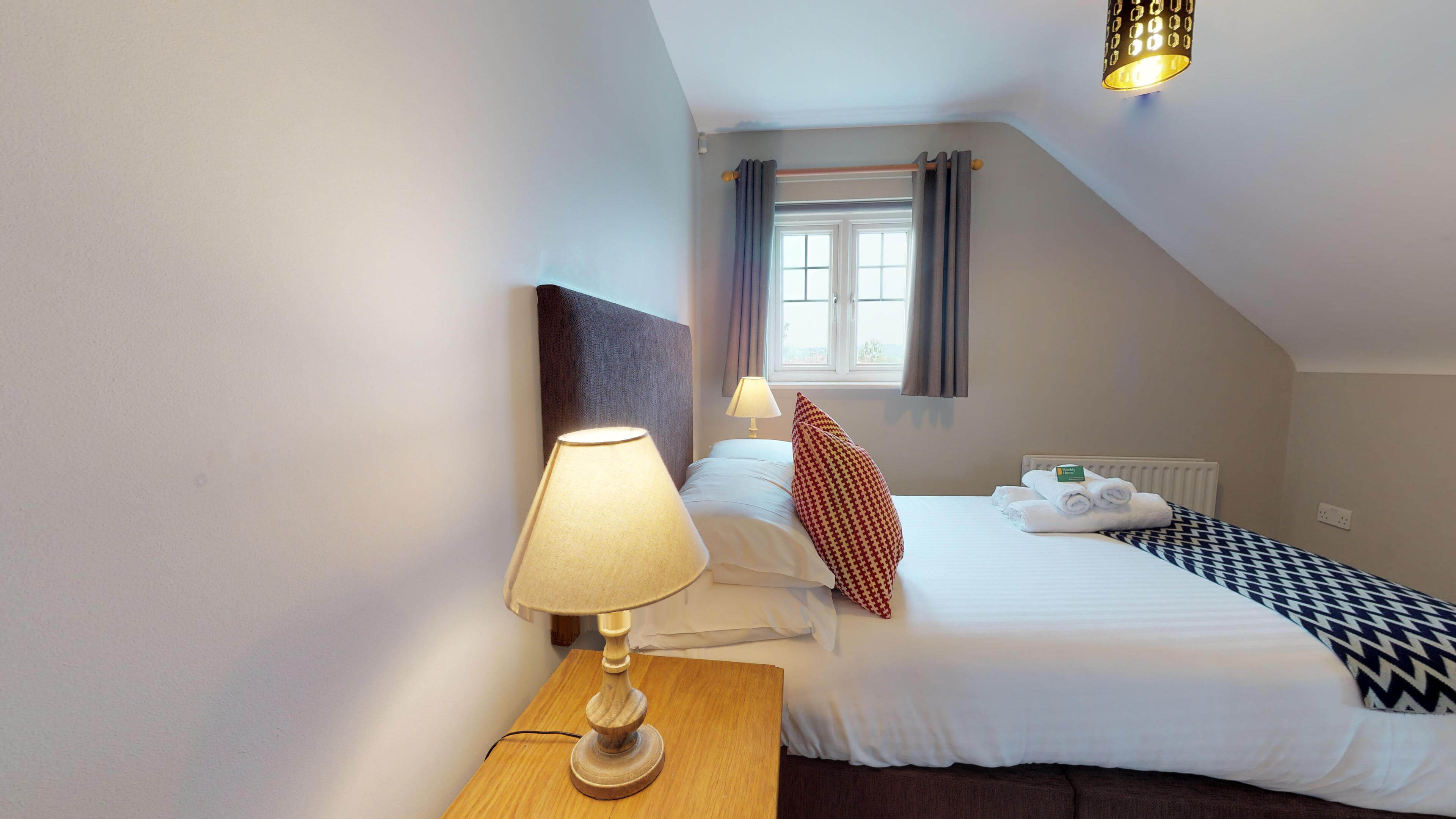 Oxford Serviced Apartment Vanbrugh Spencer Suite Bedroom One View