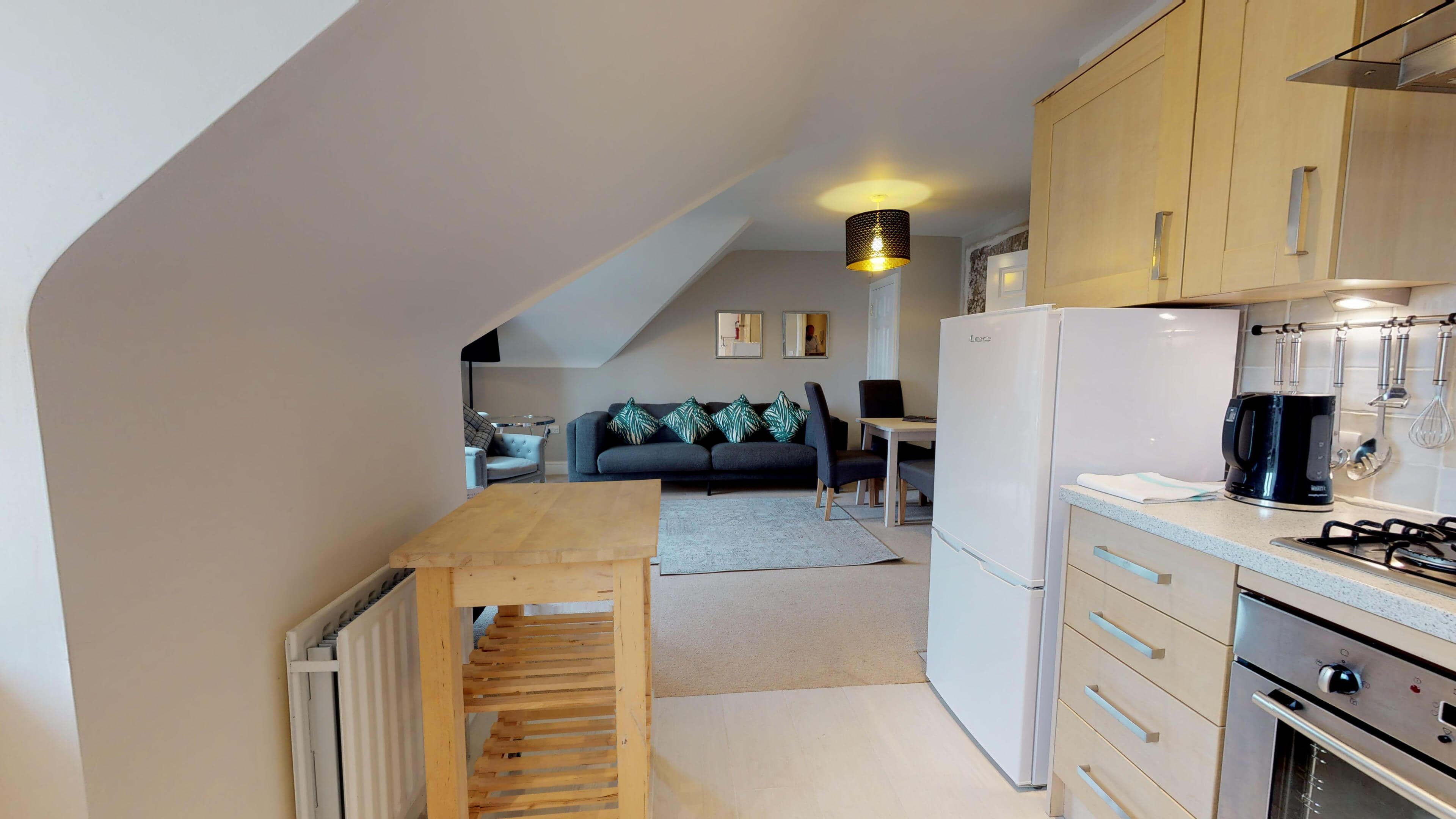 Oxford Serviced Apartment Vanbrugh Spencer Suite Kitchen